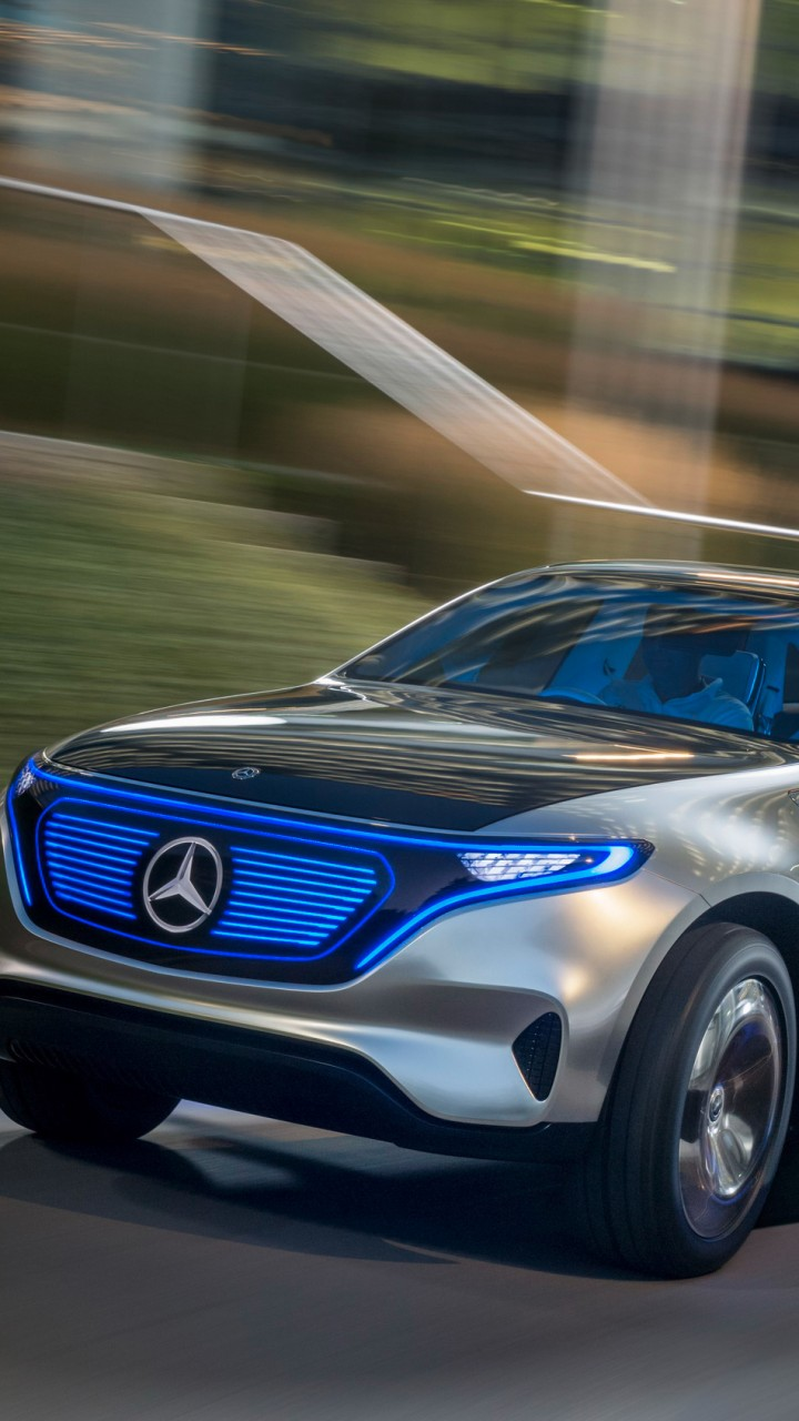 Wallpaper Mercedes-Benz EQC, SUV, 2019 Cars, electric cars ...