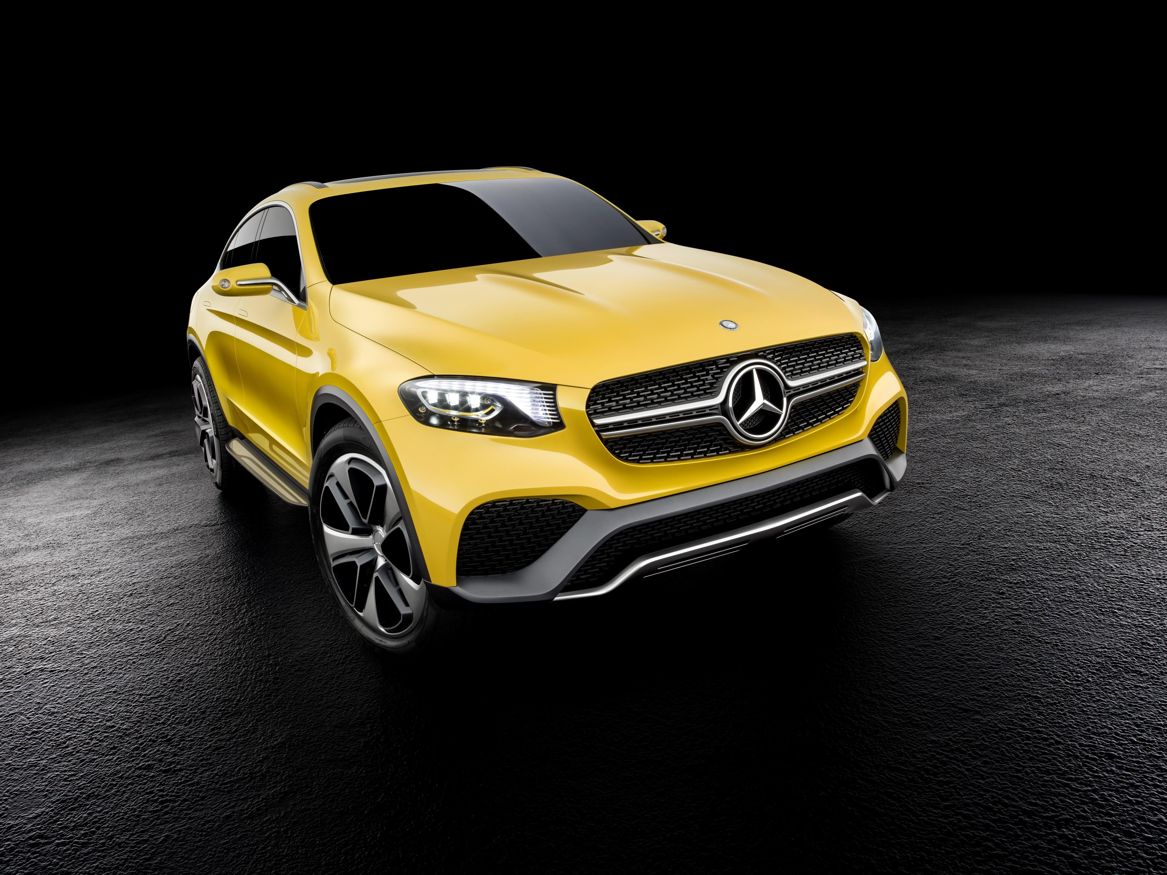 Wallpaper Mercedes-Benz GLC, concept, gold, Cars & Bikes #7685