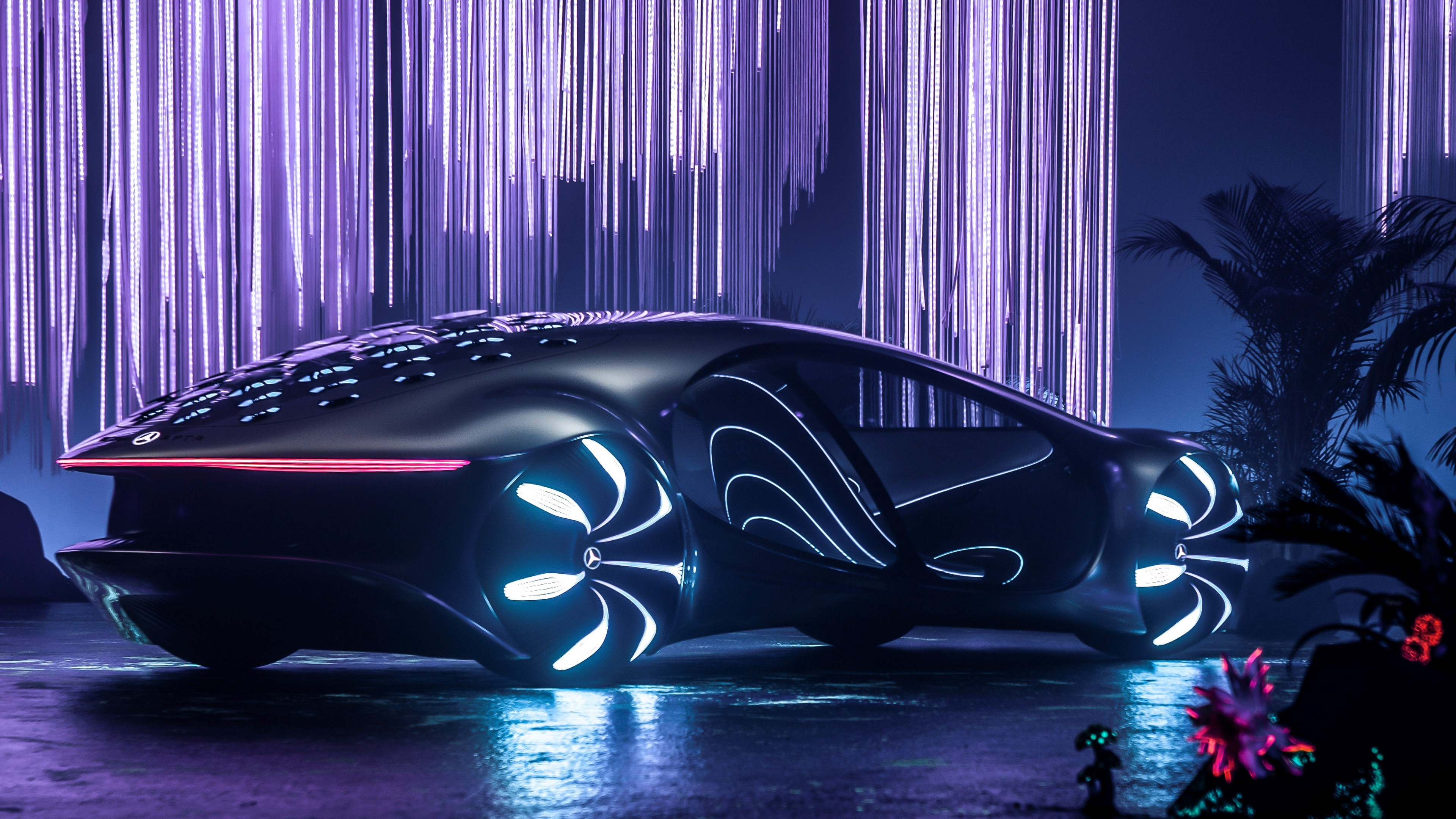 Wallpaper Mercedes Benz Vision Avtr Ces 2020 Electric Cars 4k Cars Bikes 22438