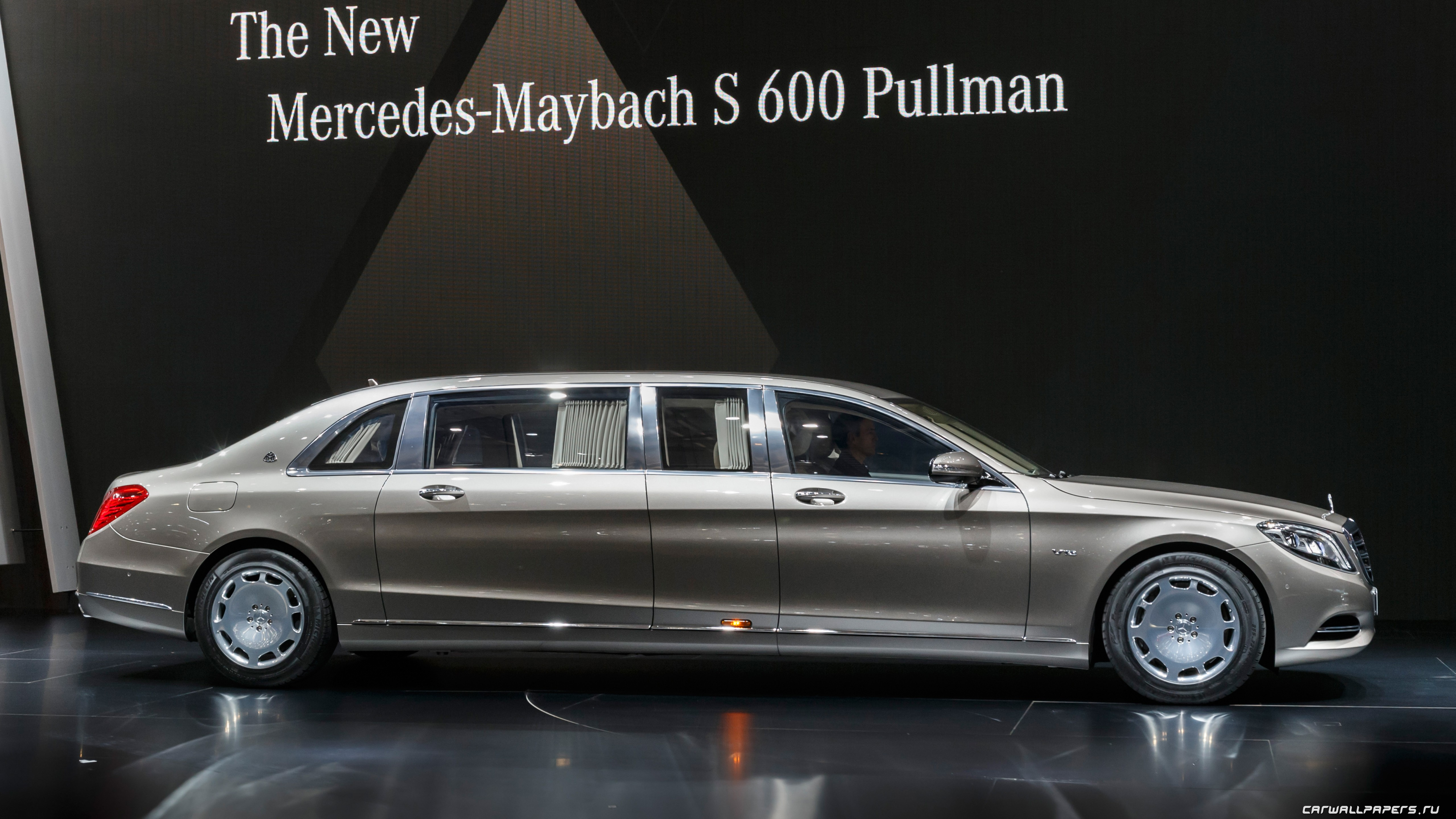 Wallpaper Mercedes Maybach S600 Pullman, sedan, grey, luxery., Cars & Bikes #6062