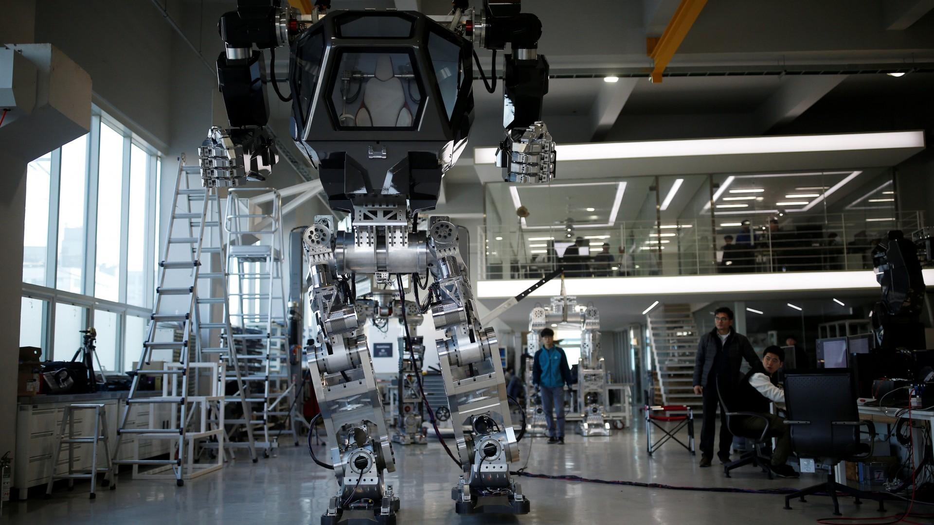 Wallpaper Method 2 Robot Mech Hi Tech 13249