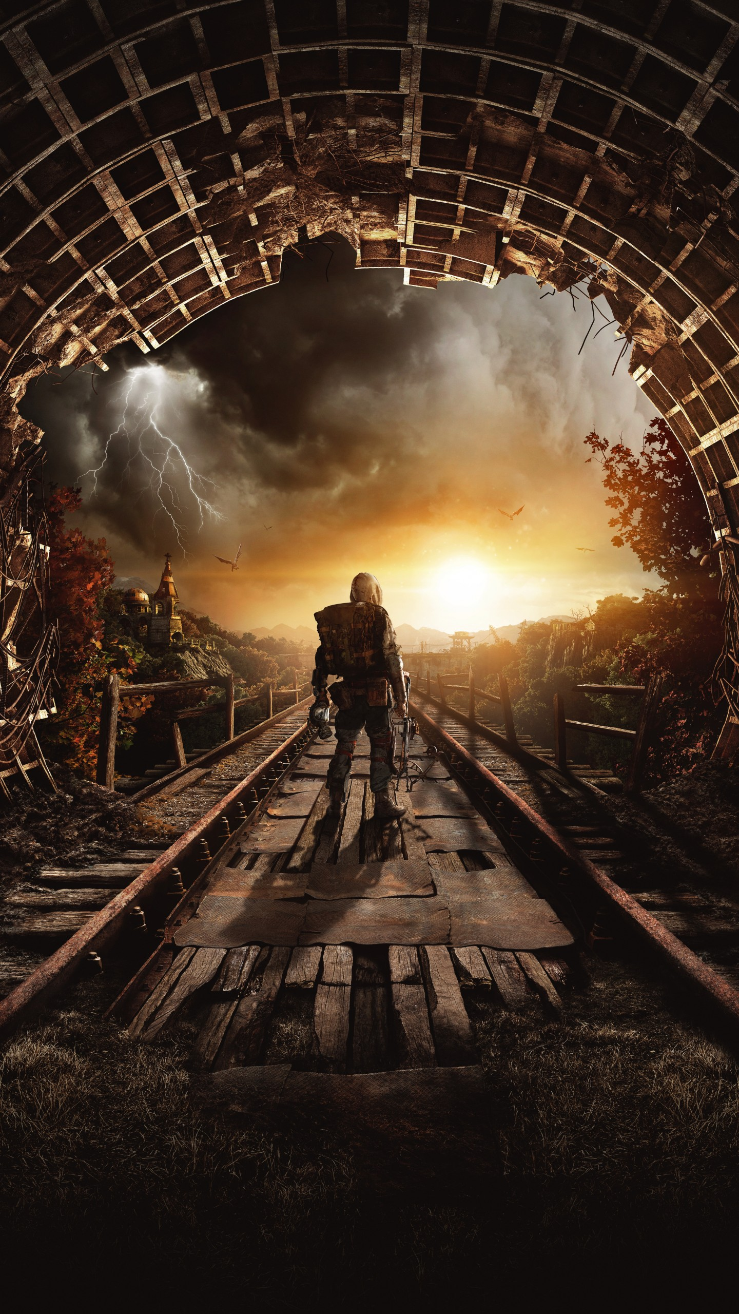 Wallpaper Metro Exodus Autumn Gamescom 2018 Artwork