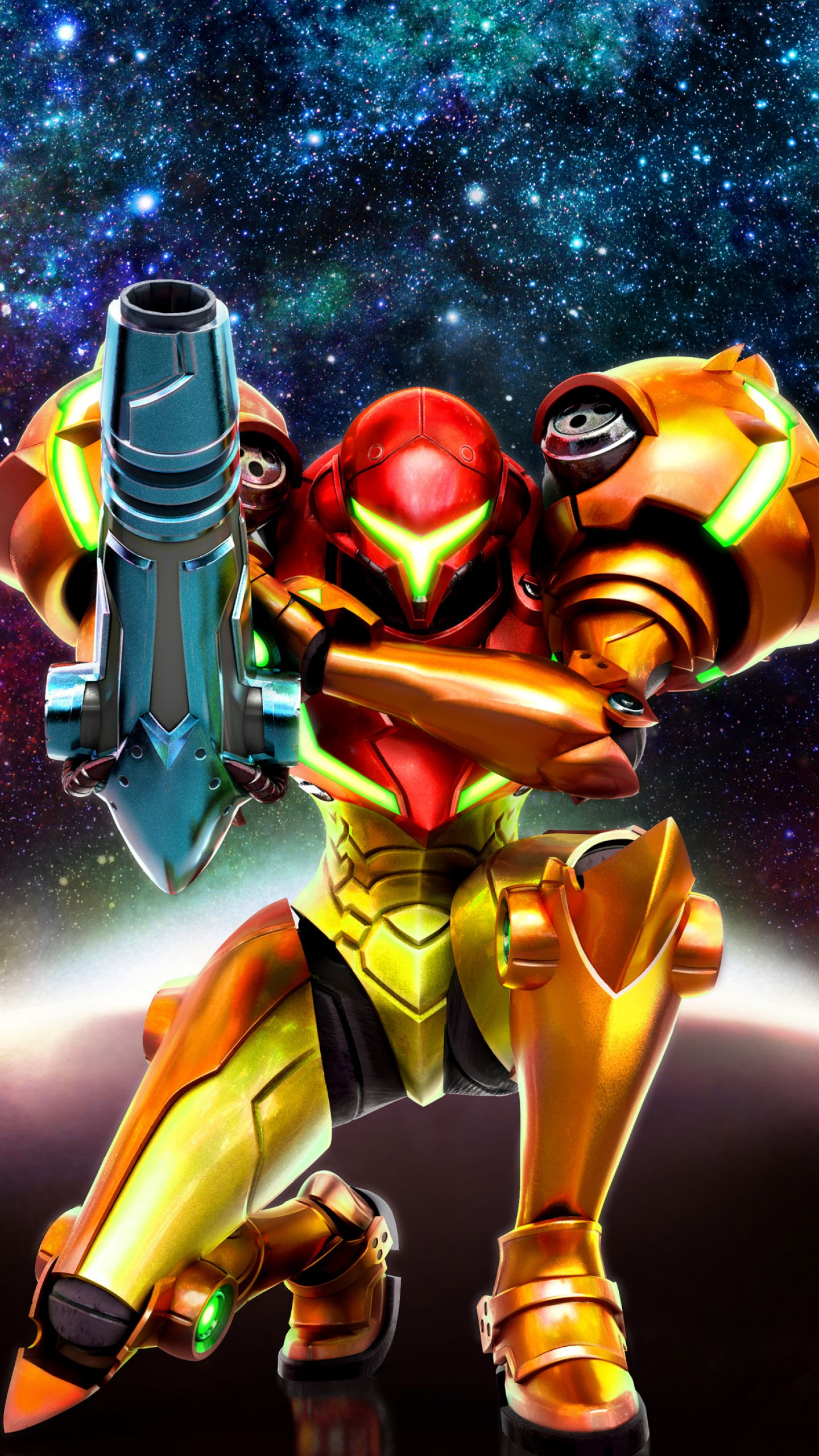 Wallpaper Metroid: Sam...