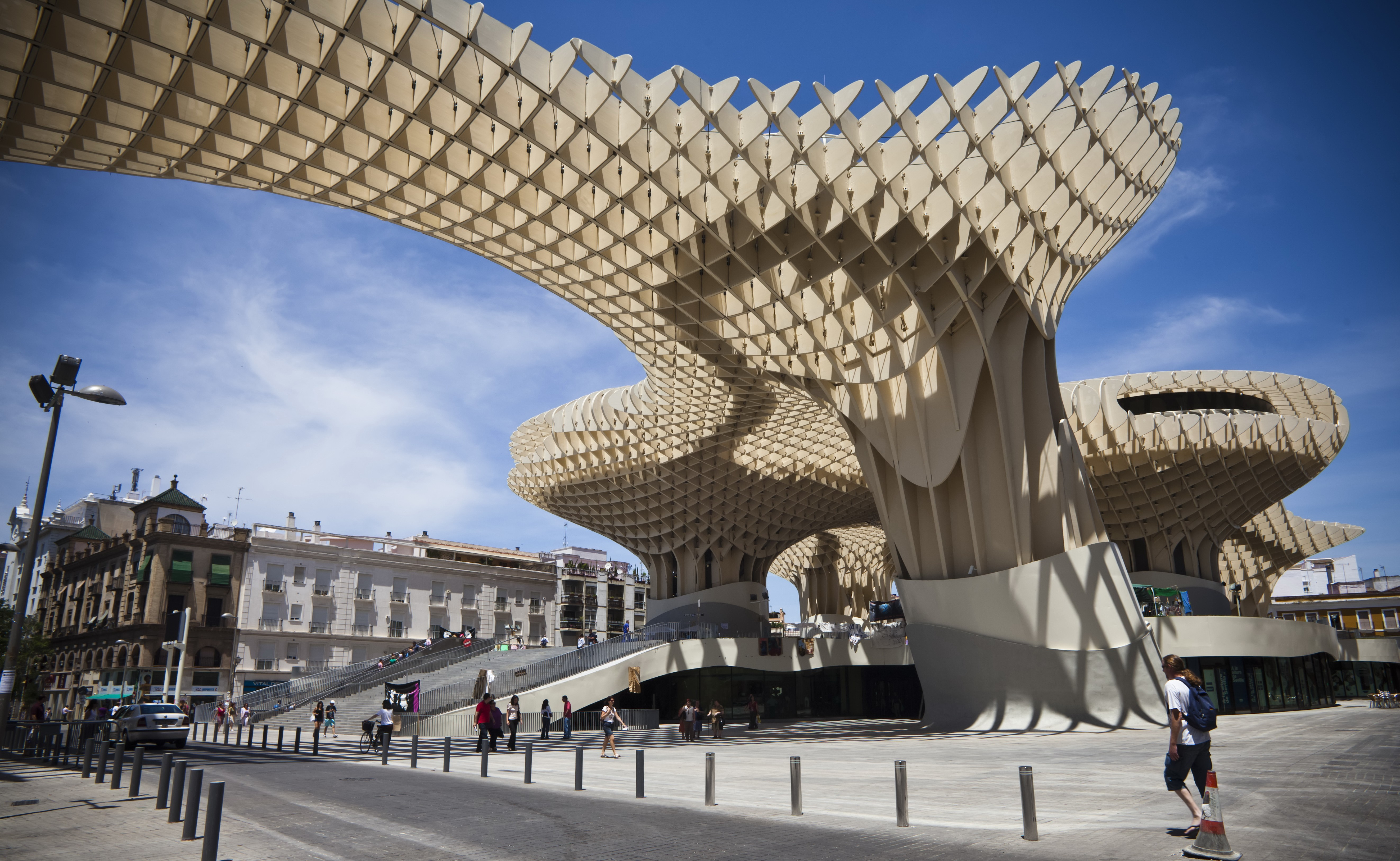 Wallpaper Metropol Parasol Sevilla Tourism Travel