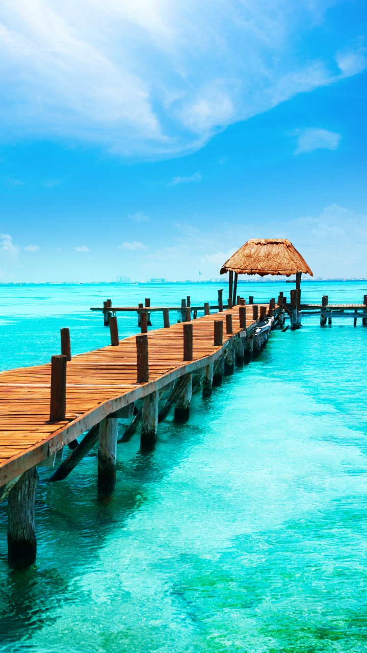 Wallpaper Mexico, 5k, 4k wallpaper, Cancun, The Caribbean ...