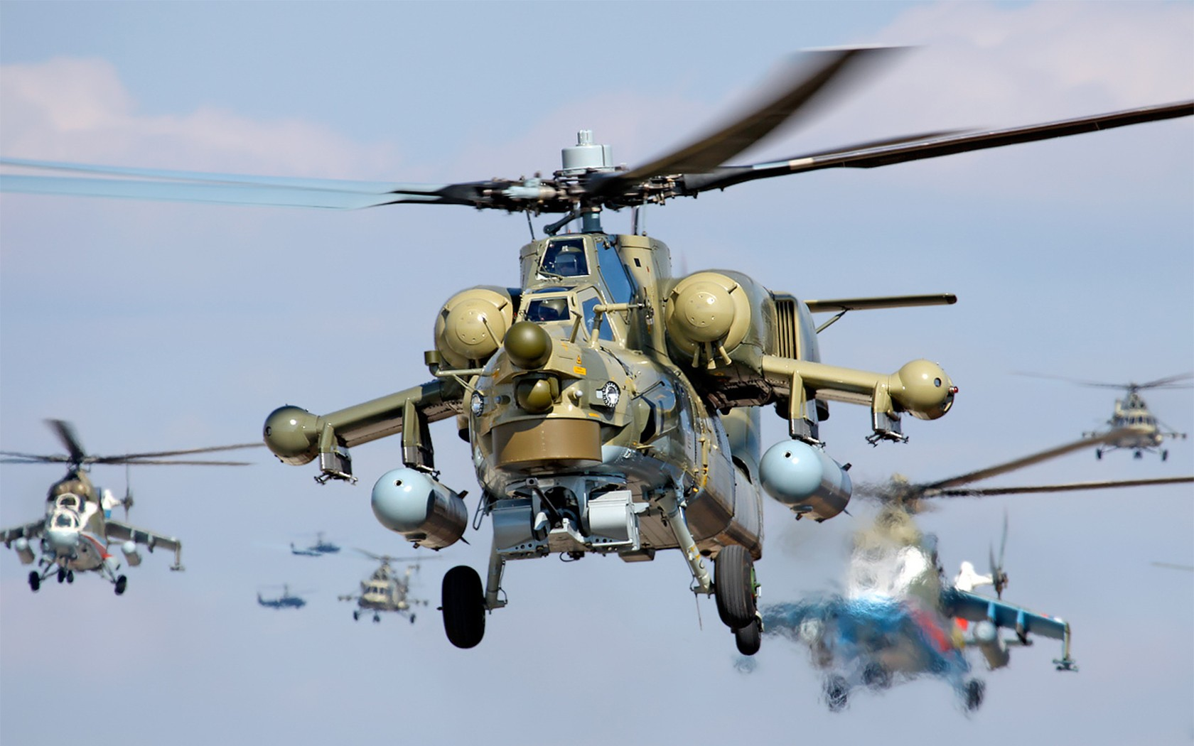 Elicottero Havoc : Wallpaper mi attack helicopter russian army military