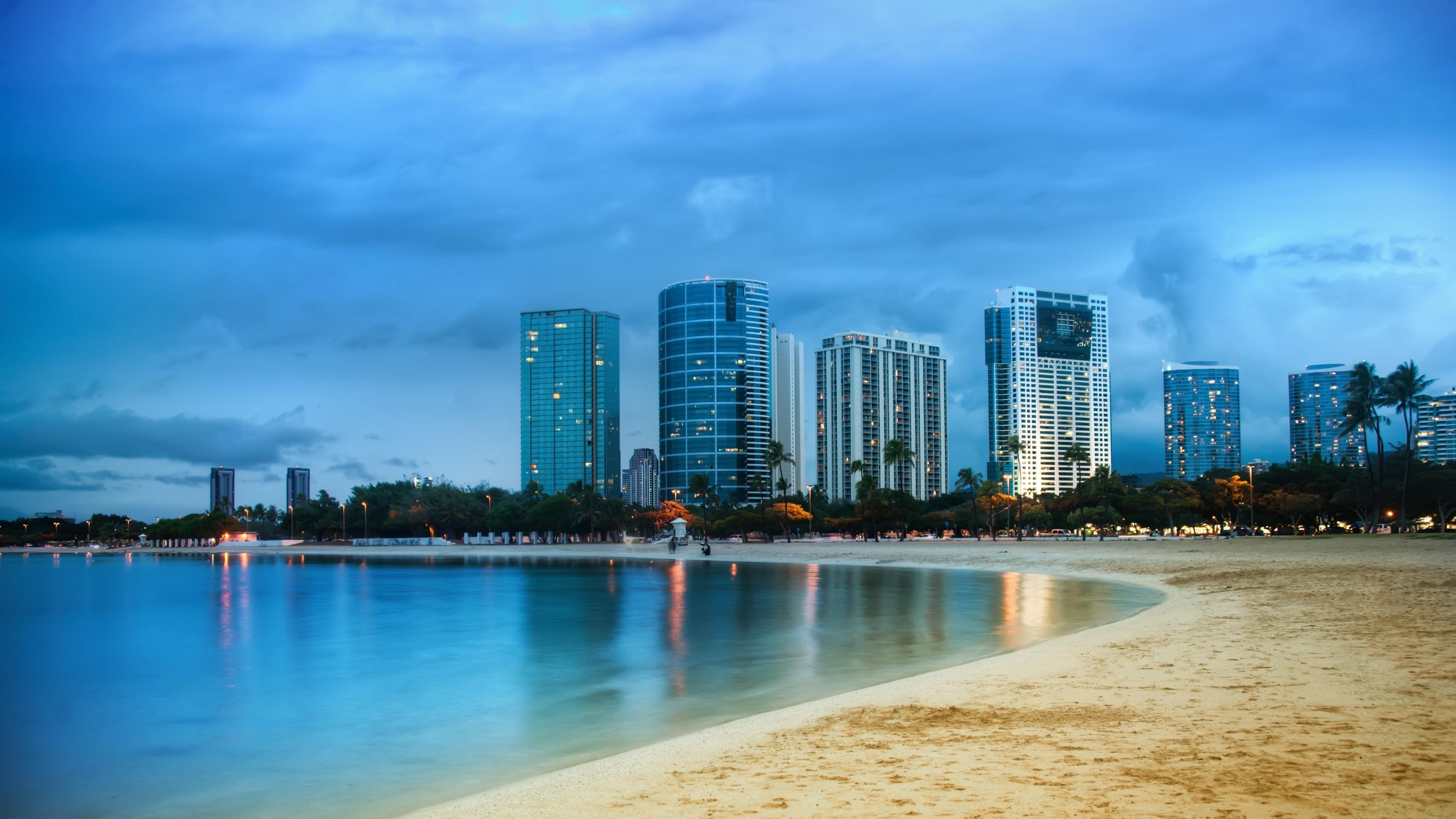 Wallpaper Miami, 5k, 4k wallpaper, ocean, shore, beach ...