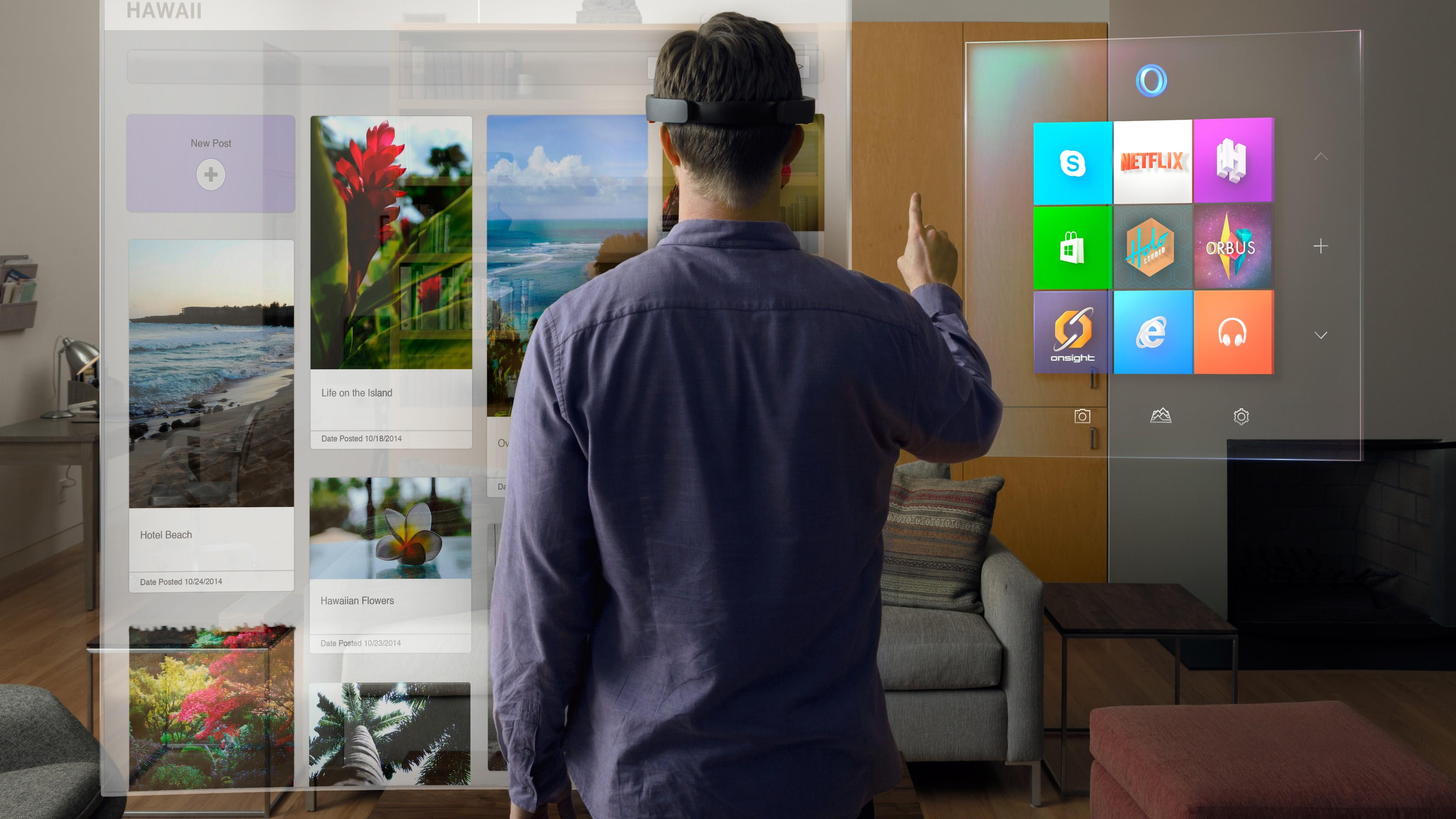 Wallpaper Microsoft Hololens Hi Tech News Of 2015 Ar