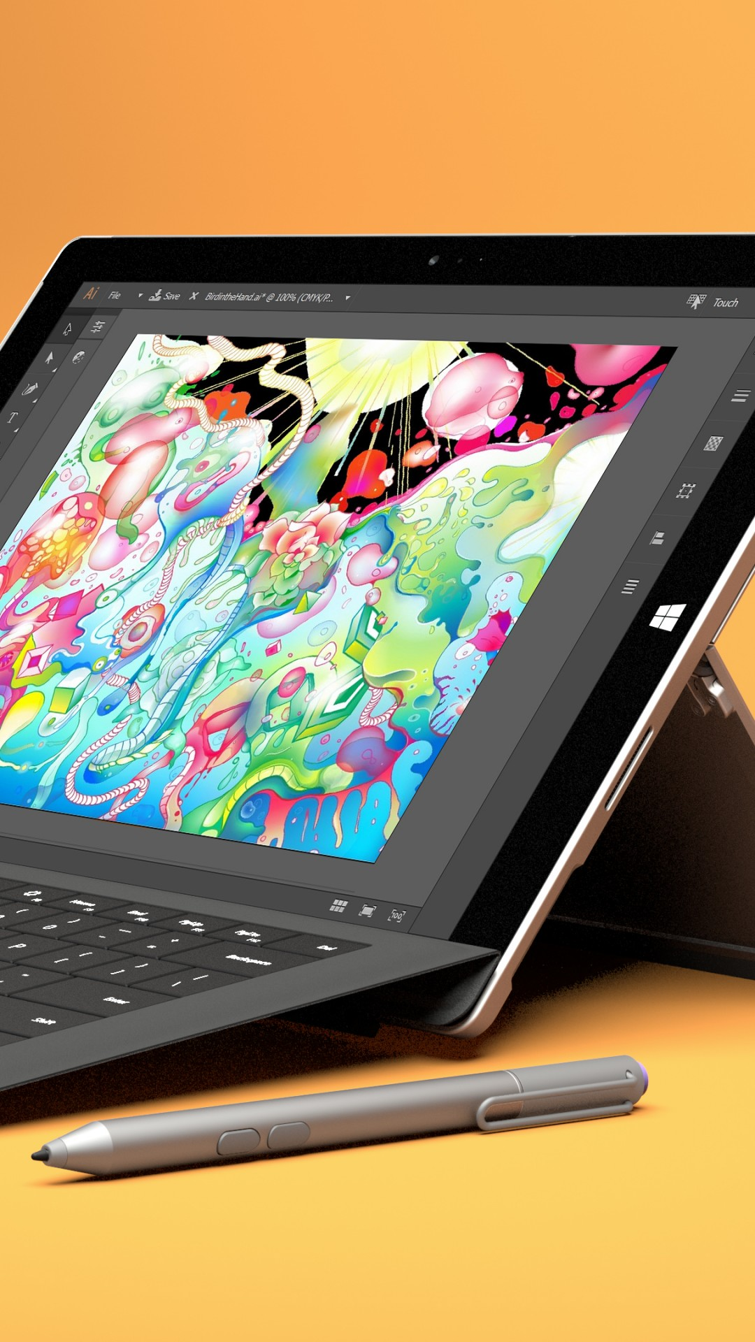 Wallpaper Microsoft Surface Pro 4 Tablet Hybrid Tablet