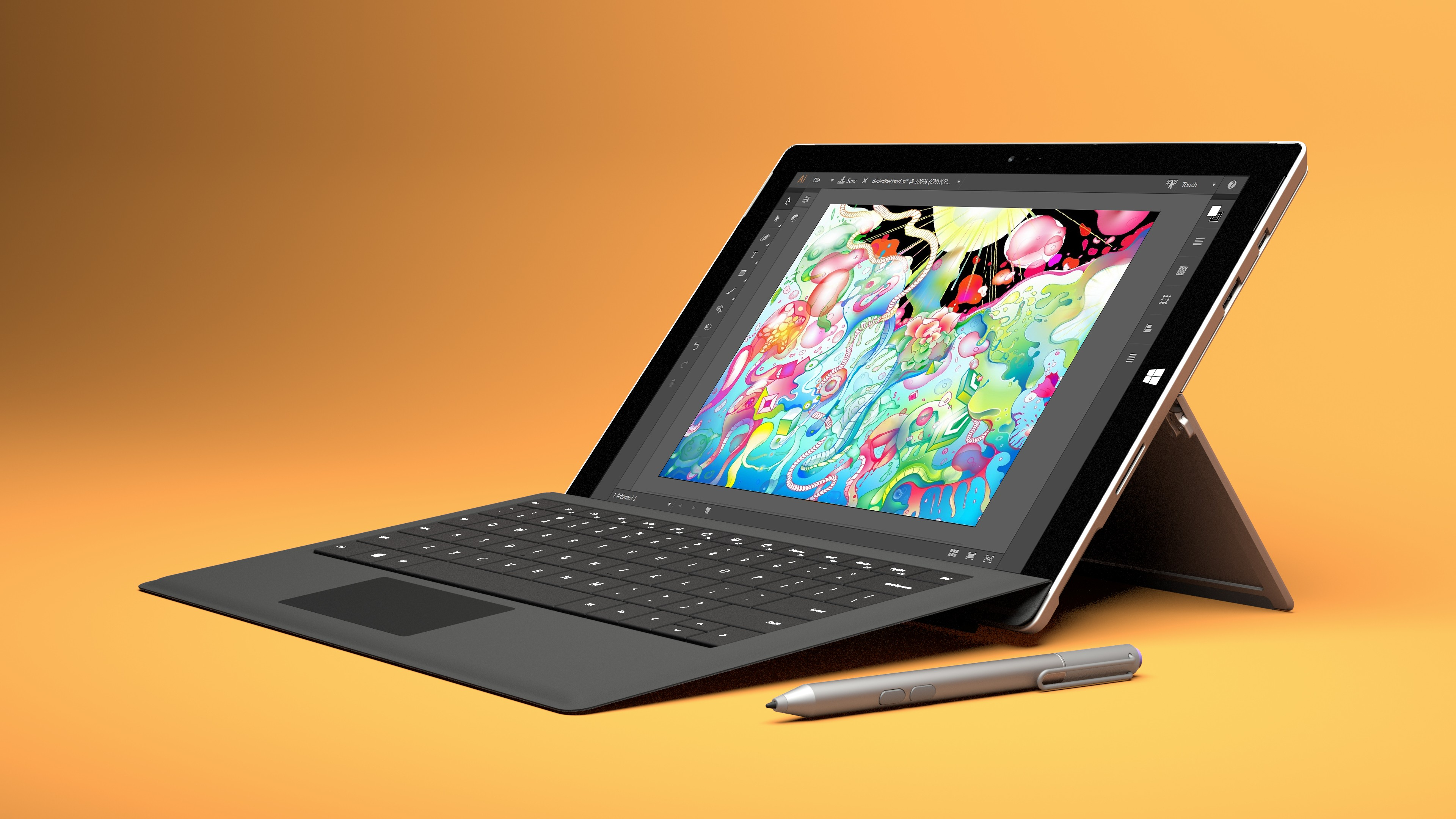 Wallpaper Microsoft Surface Pro 4 Tablet Hybrid Tablet