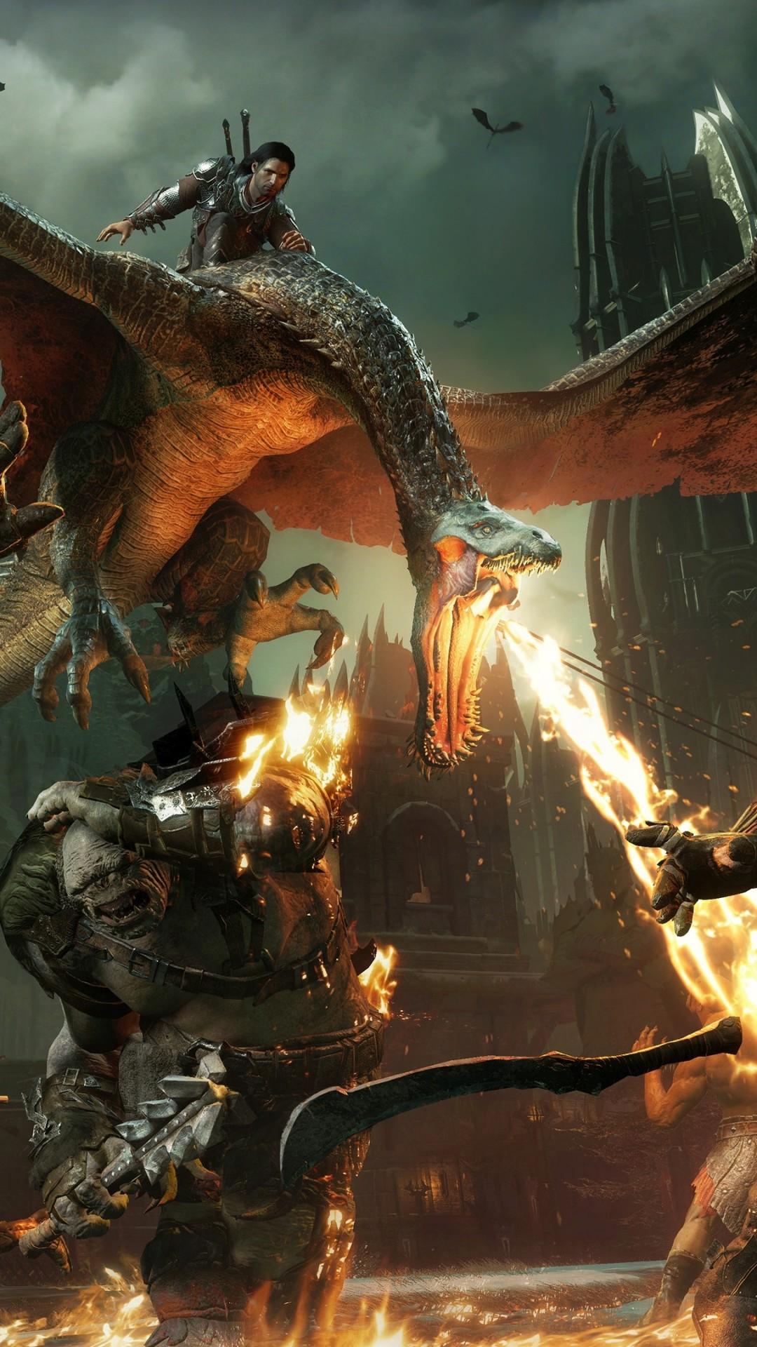 Wallpaper Middle-earth: Shadow of War, 4k, E3 2017