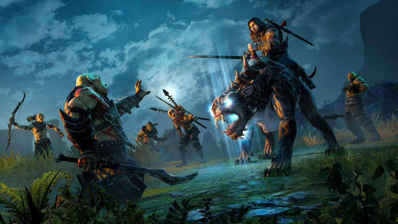 Wallpaper Middle Earth Shadow Of War 4k E3 2017