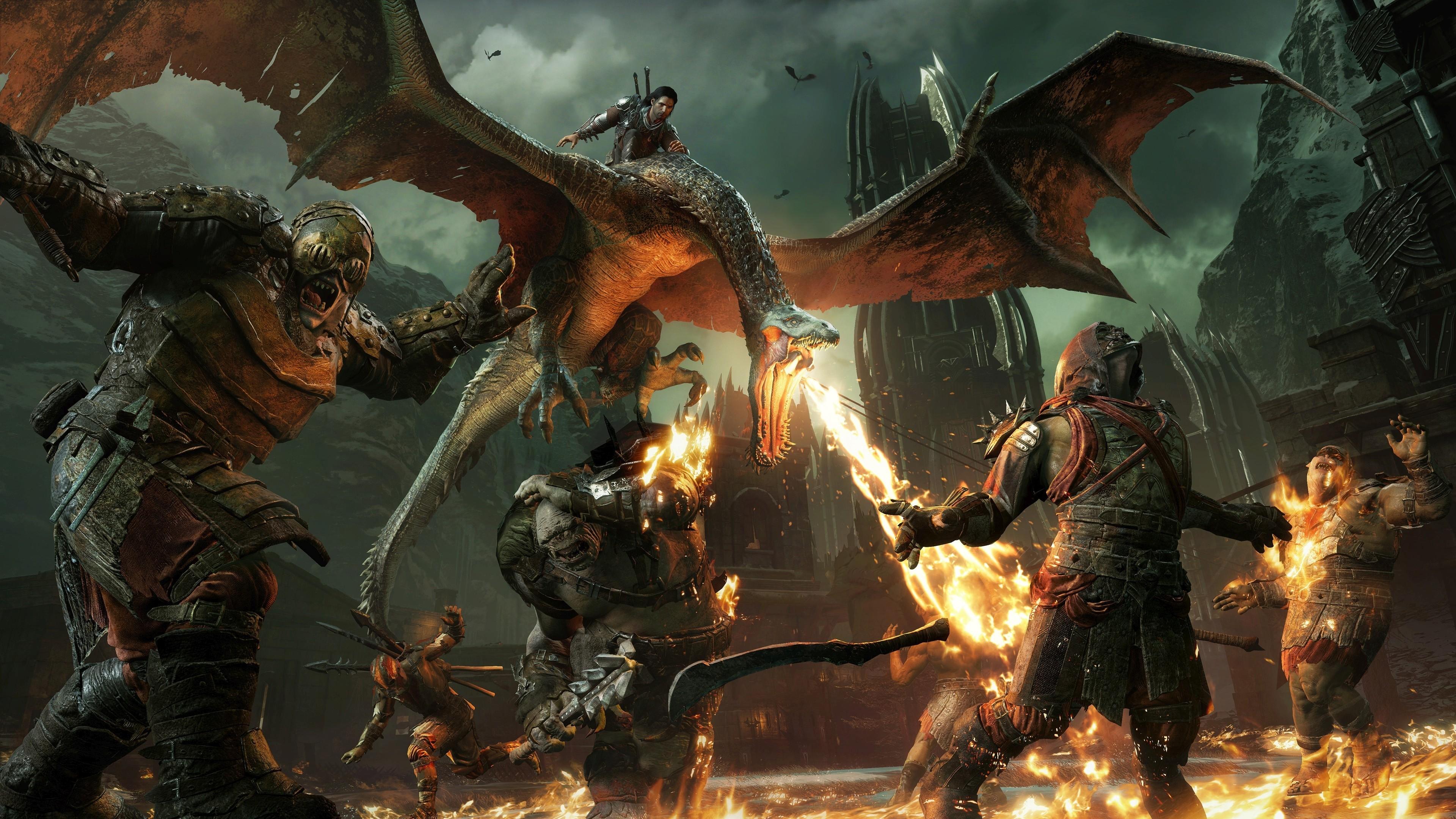 Wallpaper Middle Earth Shadow Of War 4k E3 2017