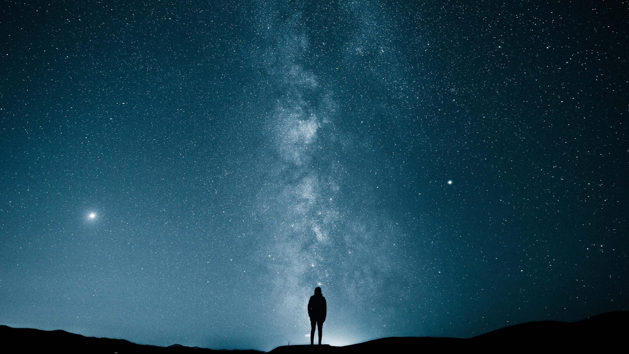Wallpaper Milky Way, Stars, 4K, Space #20311