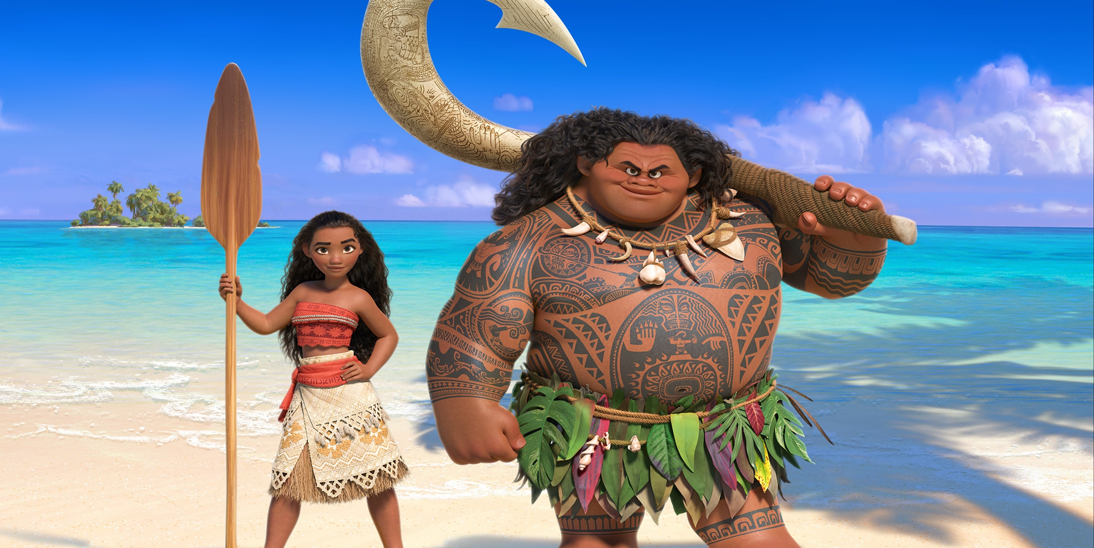 Wallpaper moana maui best animation movies of 2016 for Home wallpaper 2016