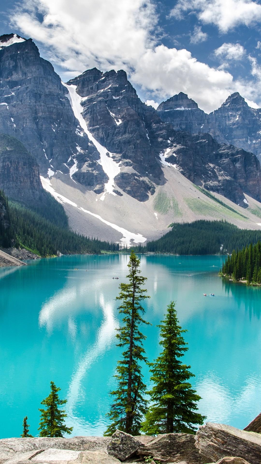 Wallpaper Moraine Lake 4k 5k Wallpaper Canada Mountains Lake