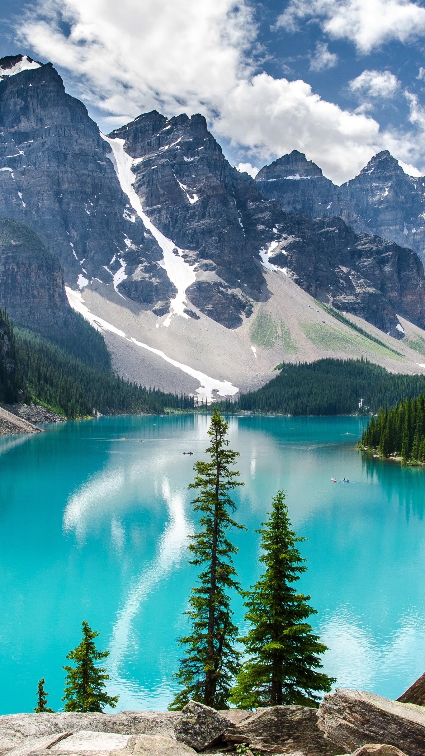 Wallpaper Moraine Lake, 4k, 5k Wallpaper, Canada