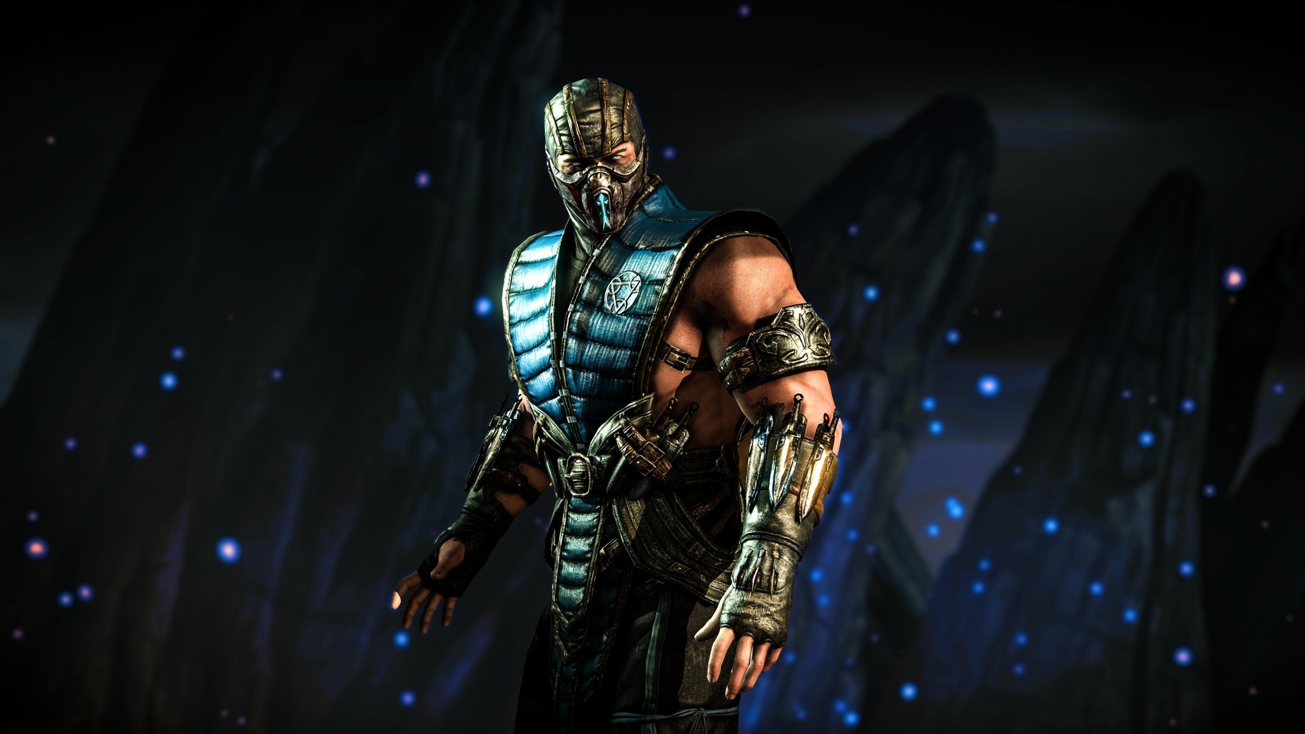 Wallpaper Mortal Kombat X Sub Zero Fighting Ps4 Xbox One
