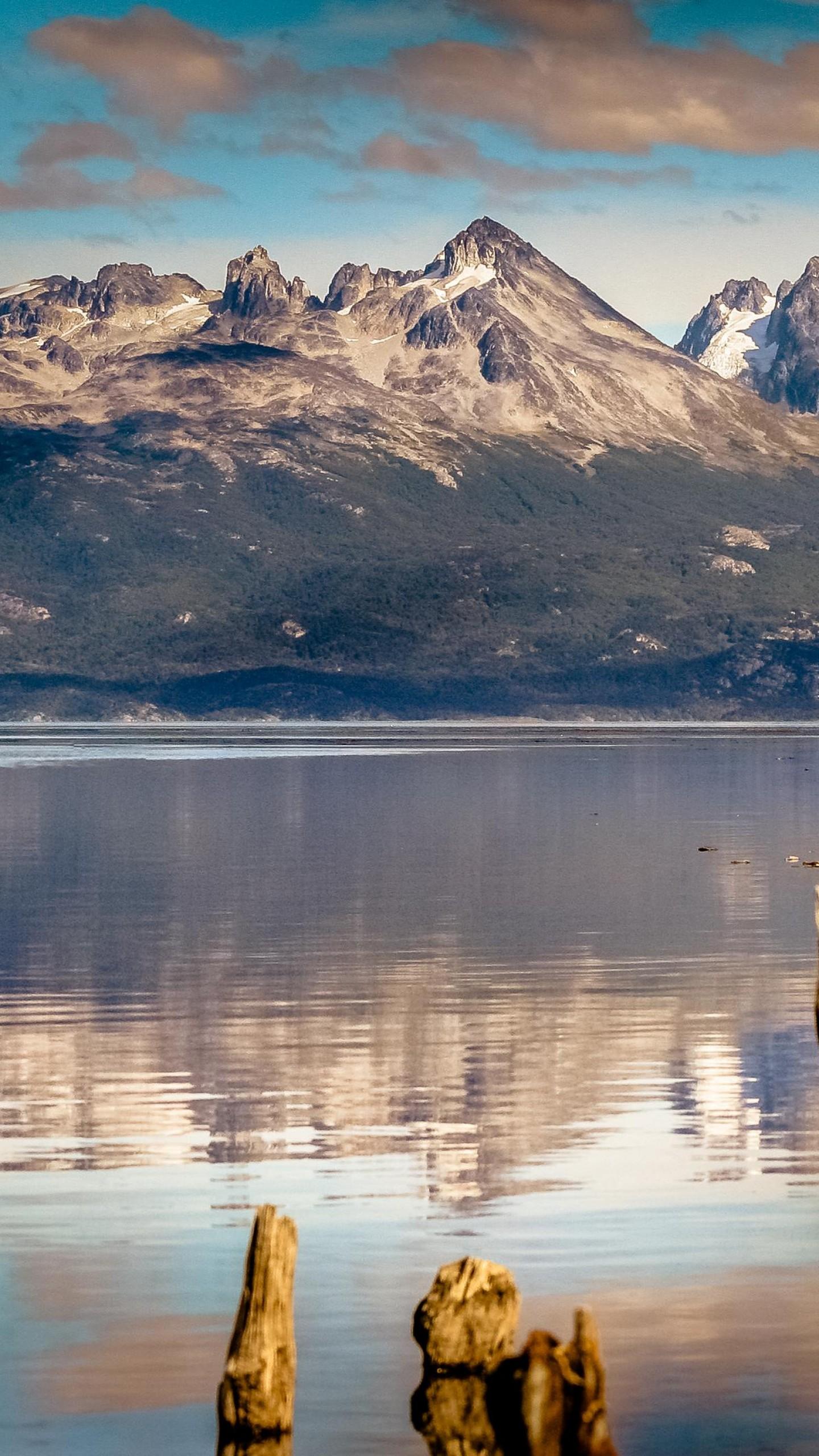 Wallpaper Mountain 4k Hd Wallpaper Lake Sea Ushuaia