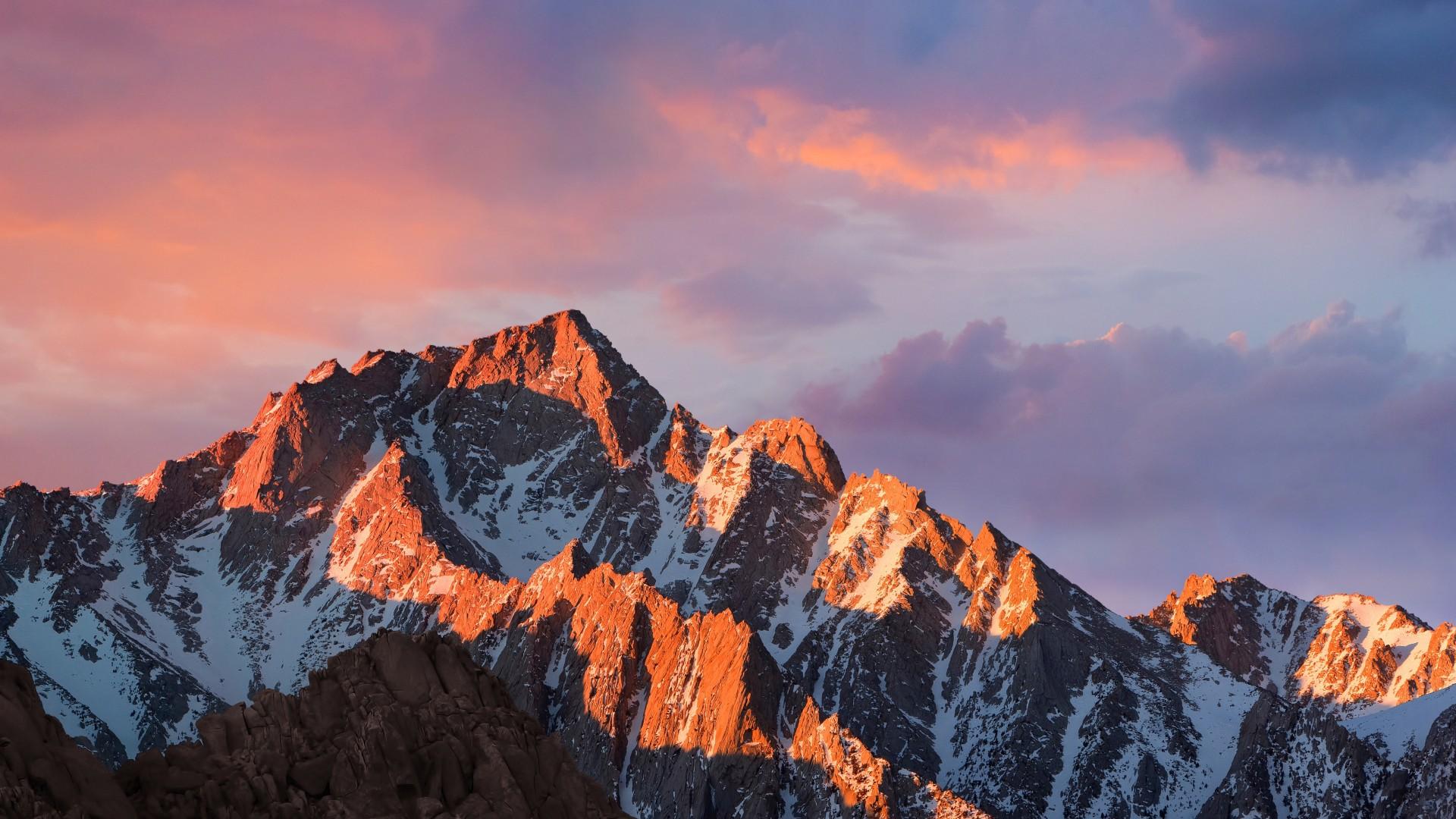 Wallpaper Mountains Macos 4k 5k Sierra Sky Android Wallpaper