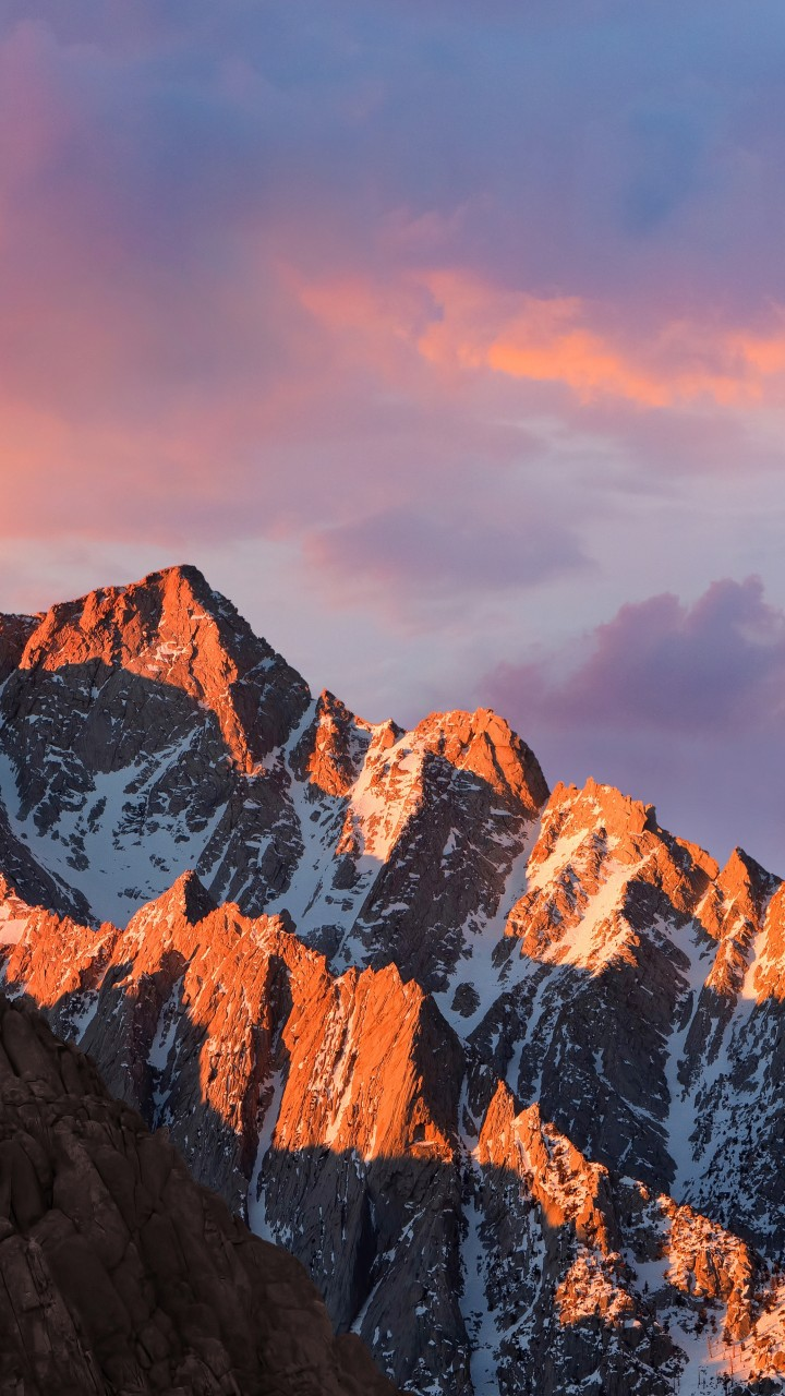 Wallpaper Mountains Macos 4k 5k Sierra Sky Android Wallpaper Os 11473
