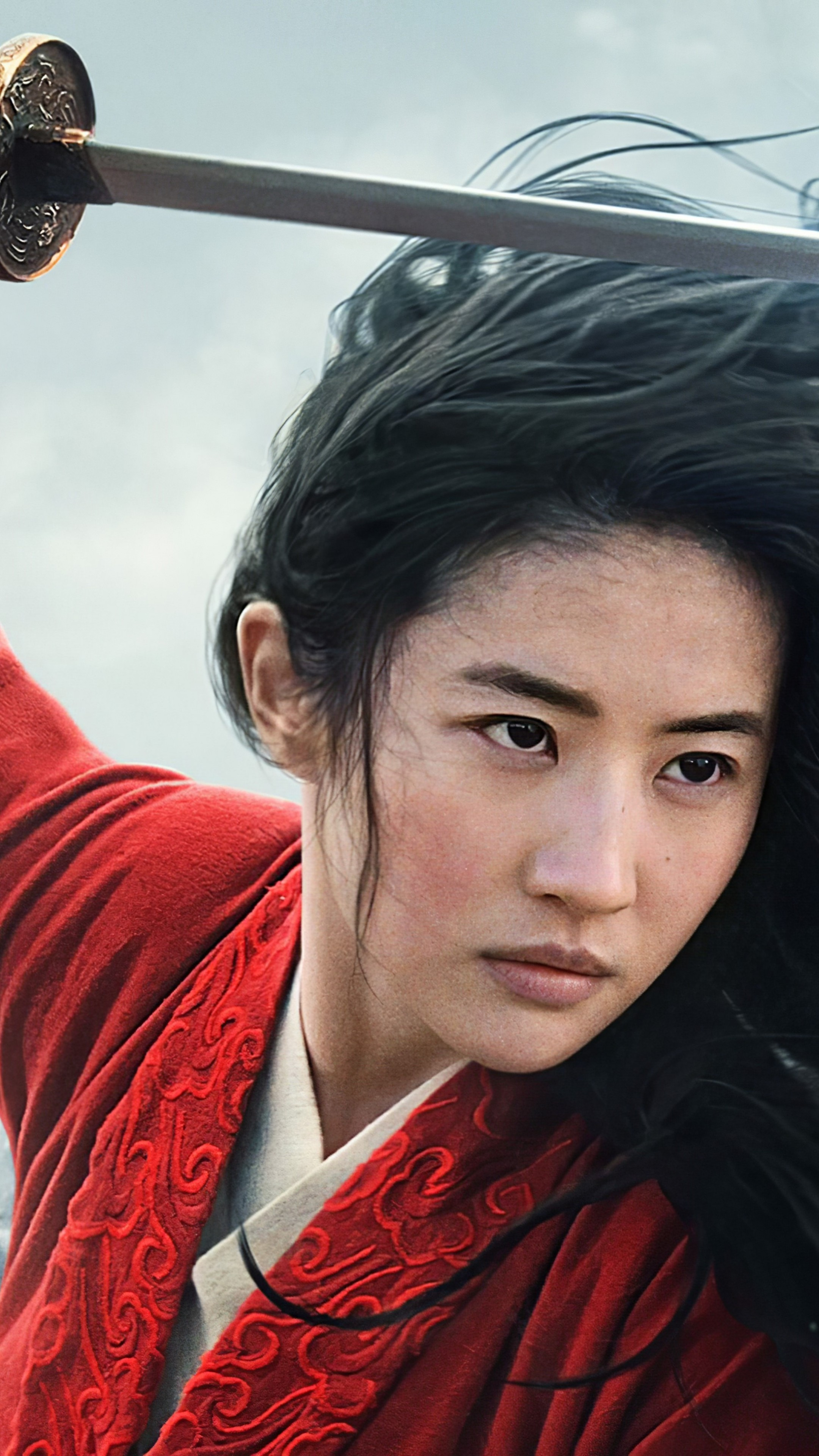 Wallpaper Mulan Yifei Liu Poster 5k Movies 22383