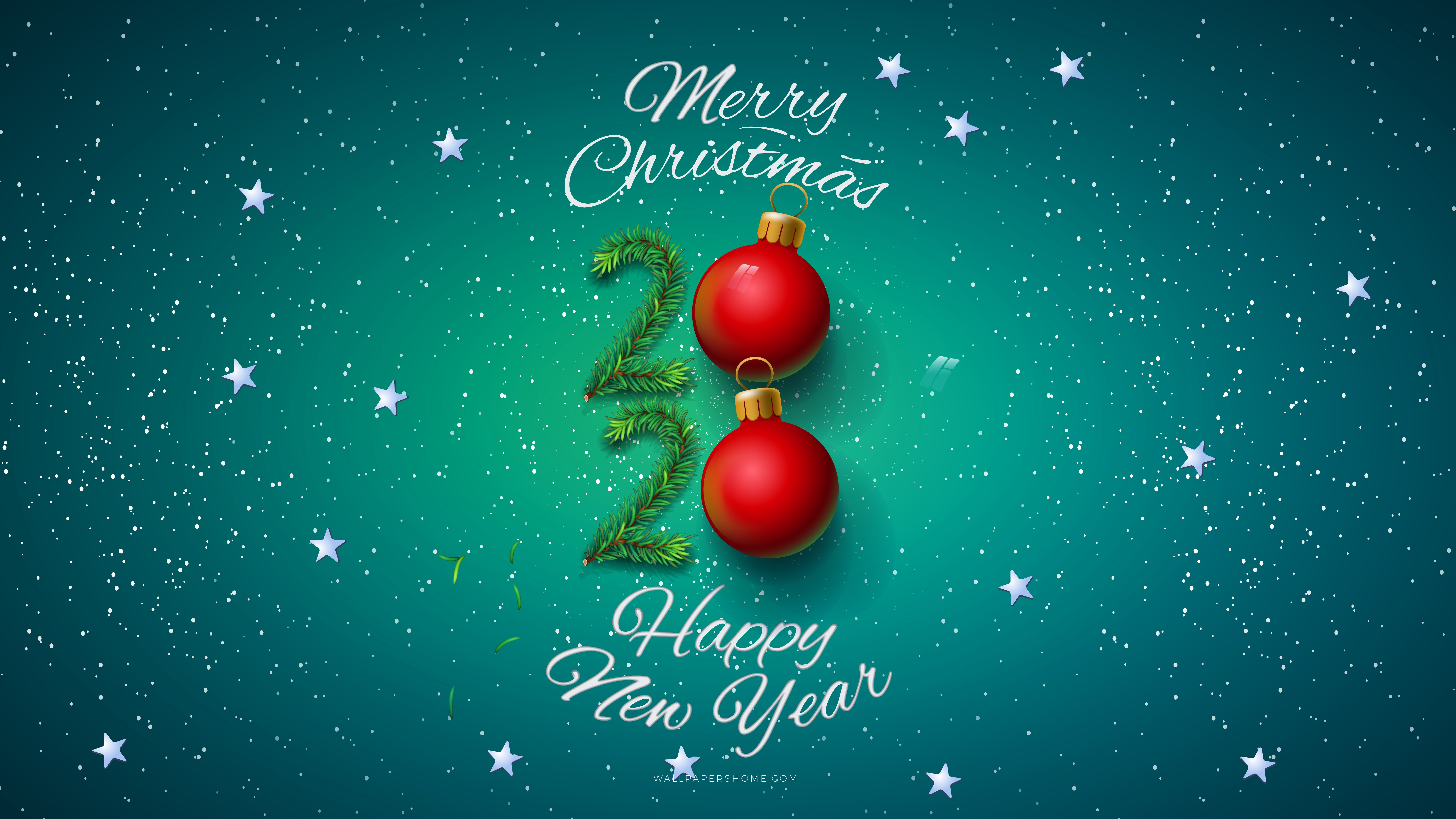 Wallpaper New Year 2019 Christmas Poster 8k Holidays 20911