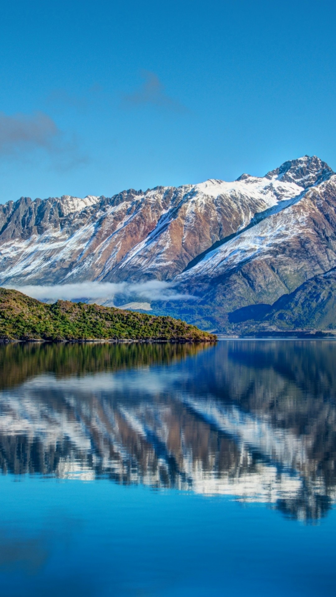 Wallpaper New Zealand, Mountain, 4k, HD Wallpaper, Lake
