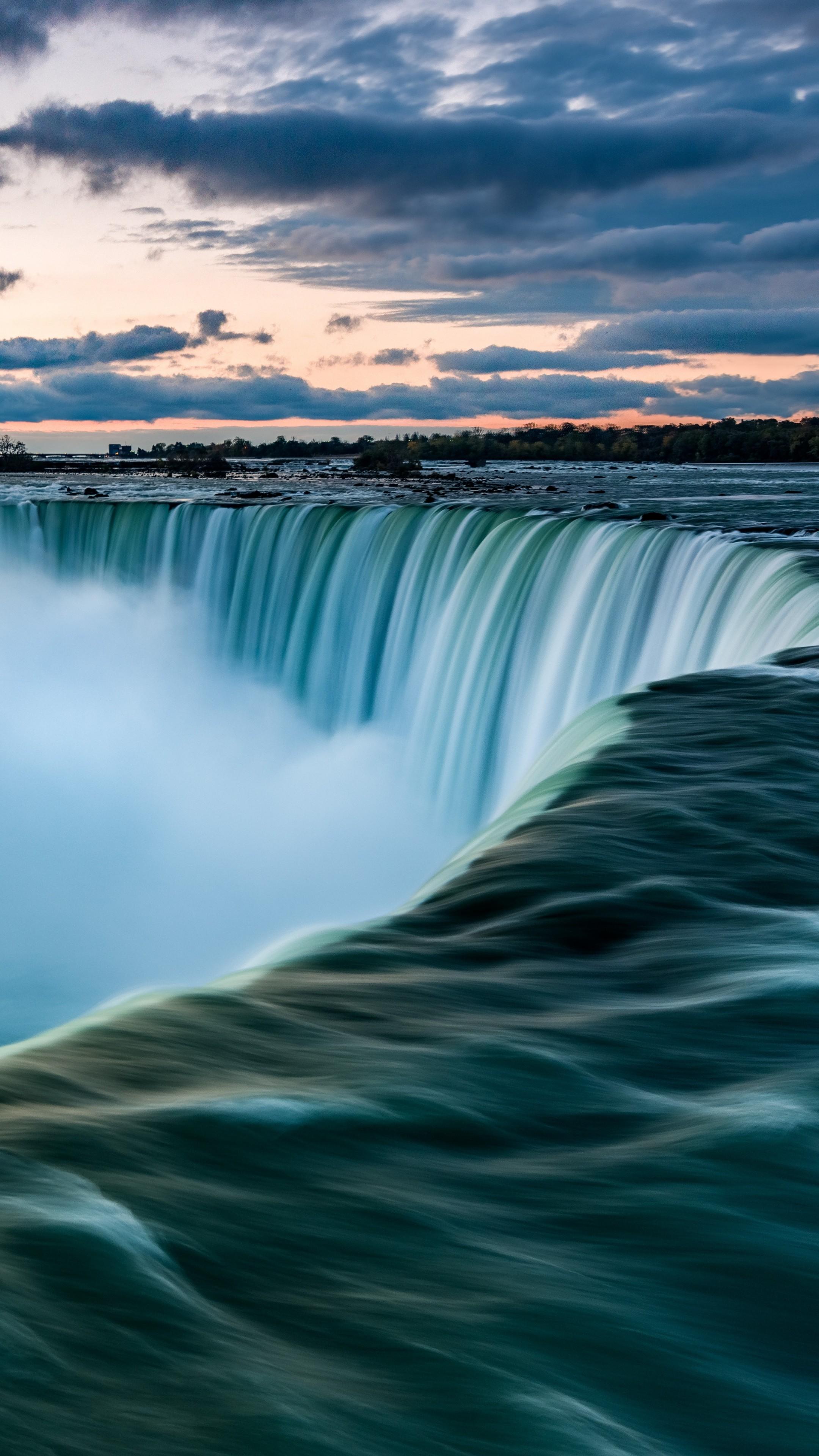 Wallpaper Niagara Falls, Waterfall, 7K, Travel #19444