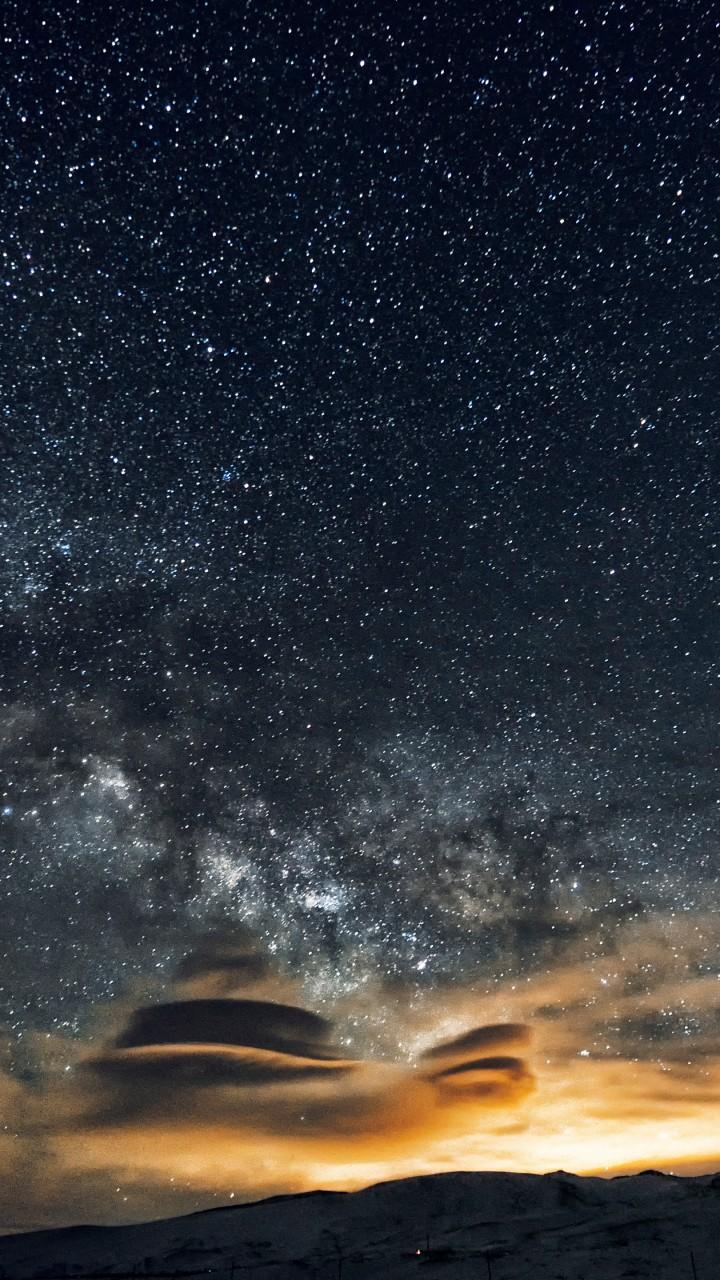 Wallpaper night sky 5k 4k wallpaper 8k stars night - Night mountain wallpaper 4k ...