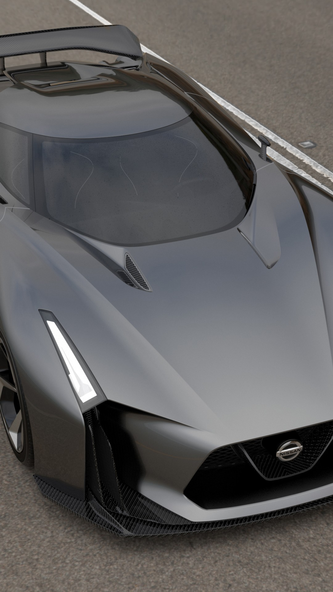 Wallpaper Nissan 2020 Vision Gran Turismo, concept, Nissan ...