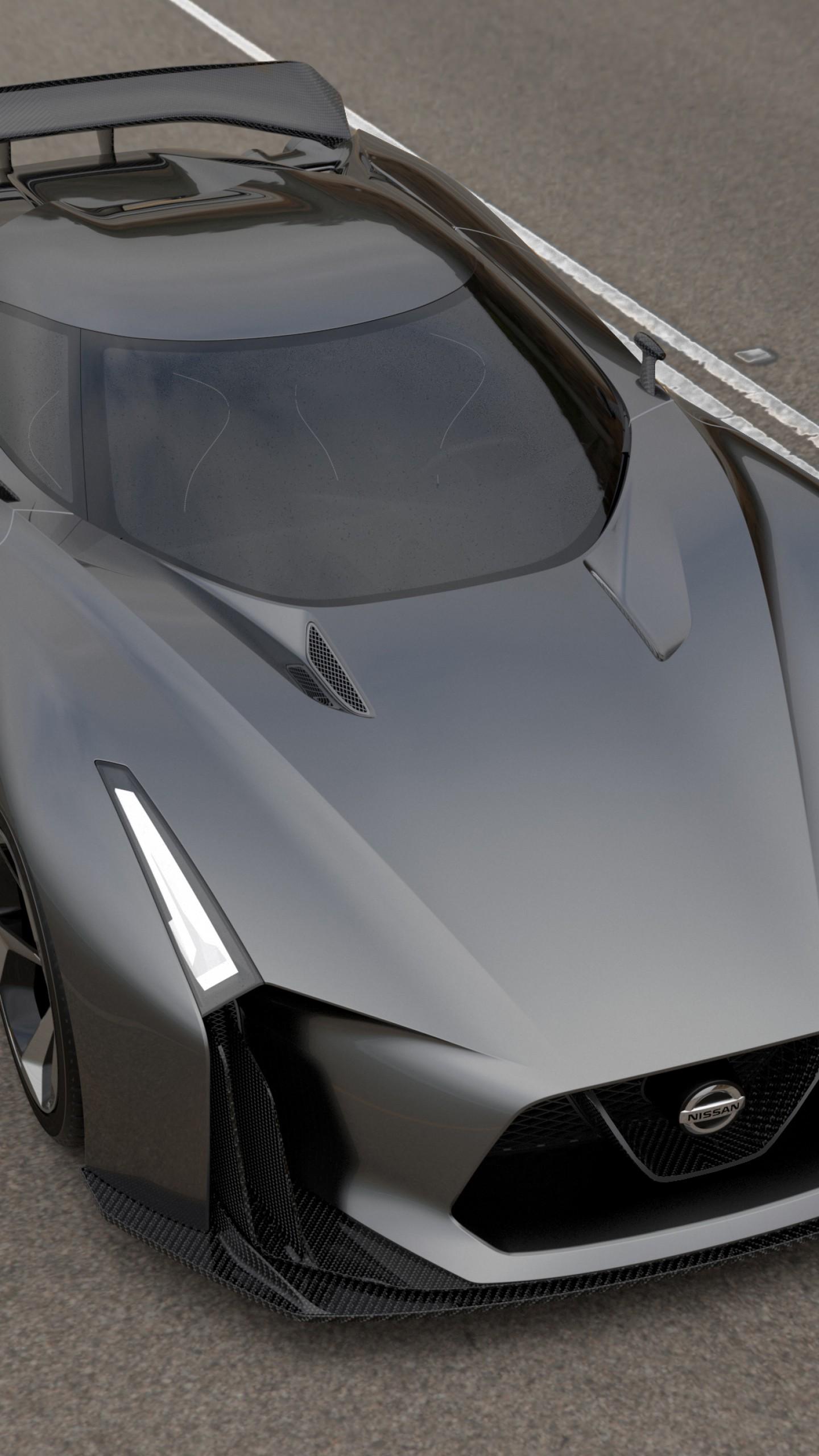 Wallpaper Nissan 2020 Vision Gran Turismo Concept Nissan