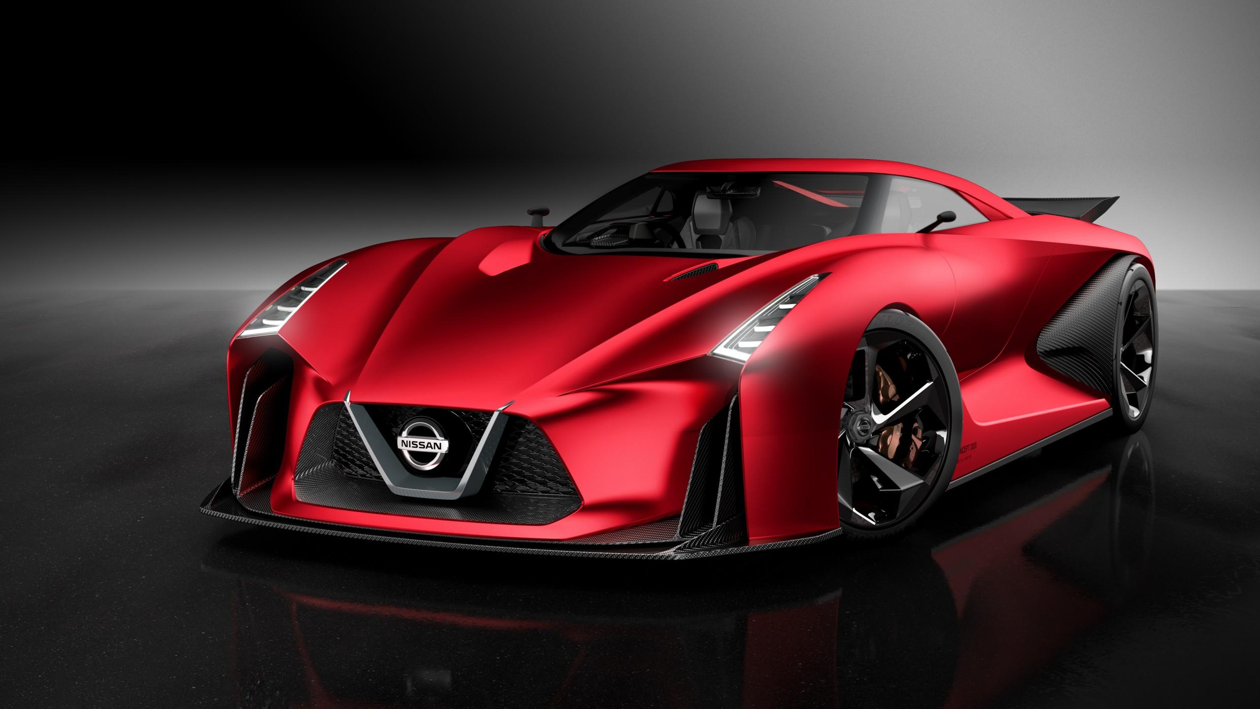 Dr Car: Wallpaper Nissan 2020 Vision Gran Turismo, Red, Concept