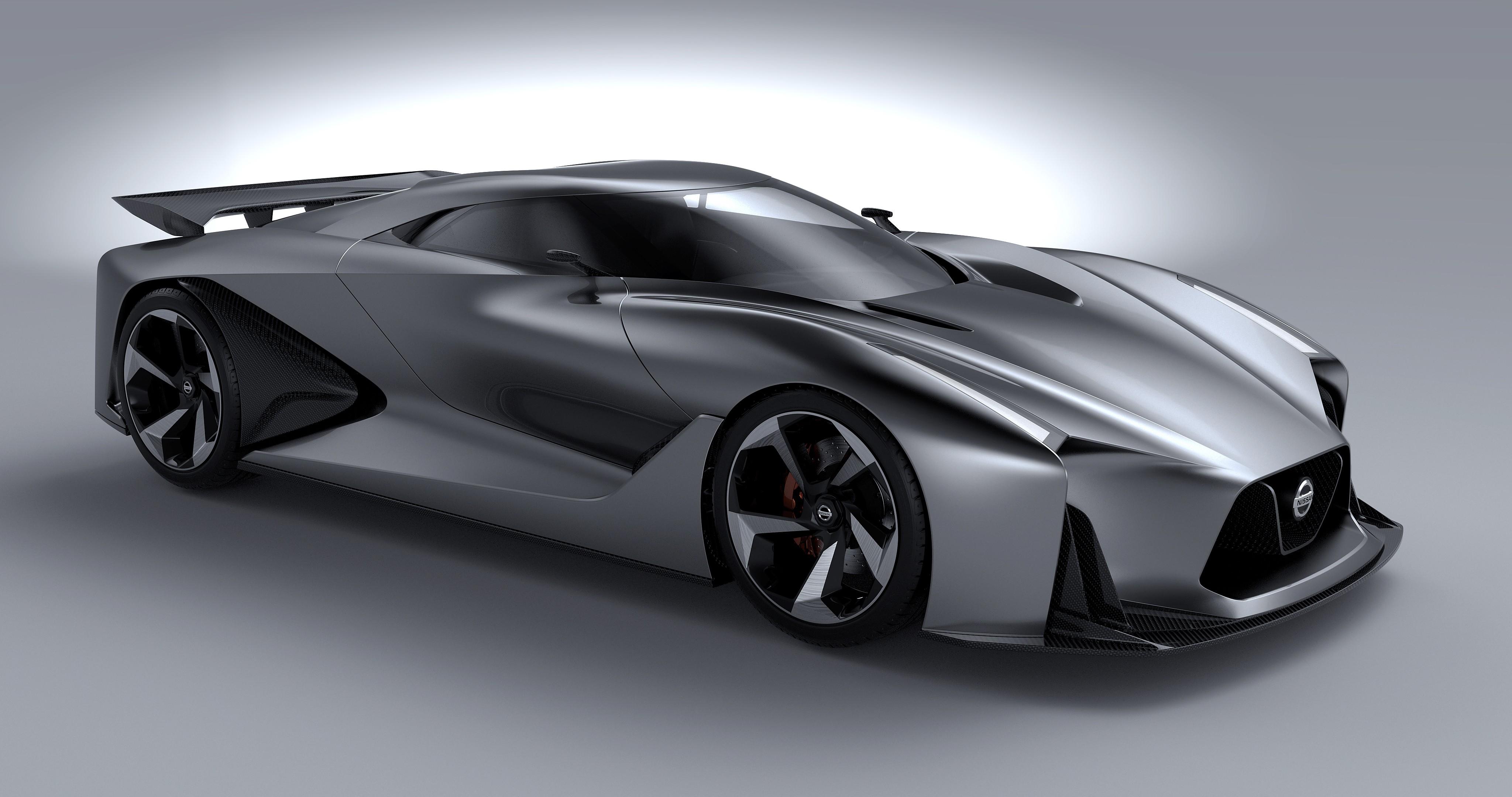 Wallpaper Nissan 2020 Vision Gran Turismo, concept, Nissan, supercar ...