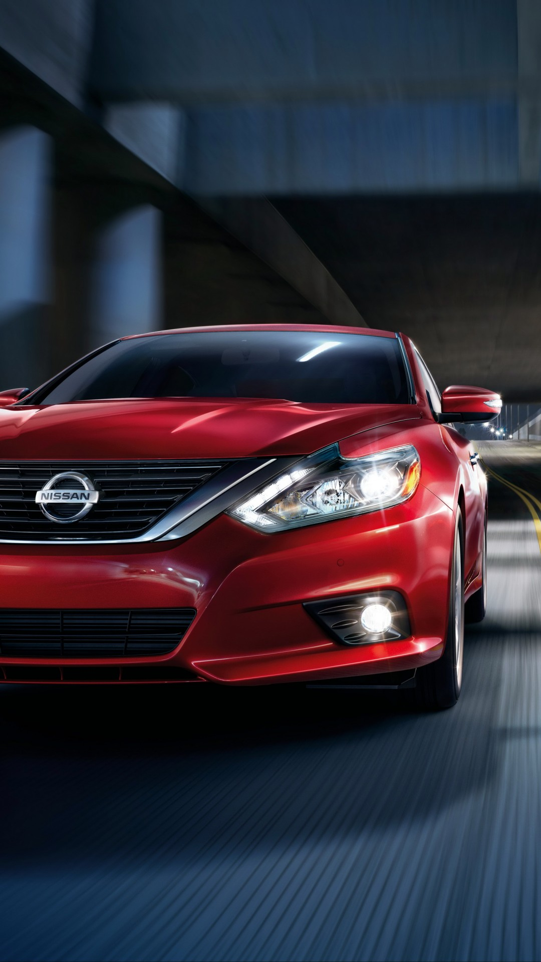 Wallpaper Nissan Altima, red, speed, Cars & Bikes #11898