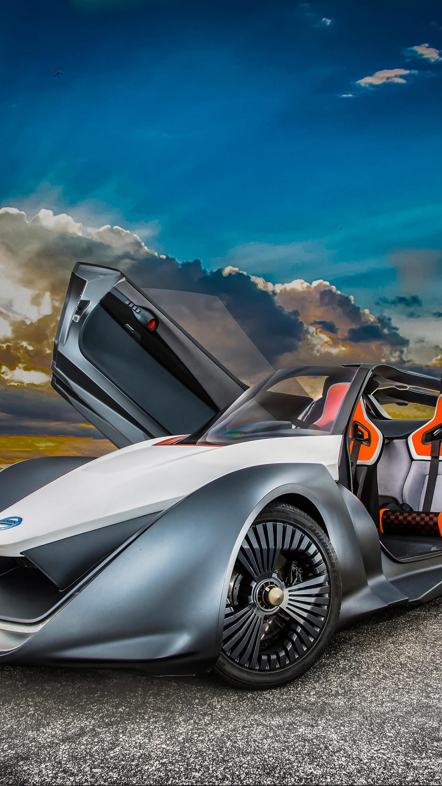 Wallpaper Nissan Bladeglider Supercar Electric Cars