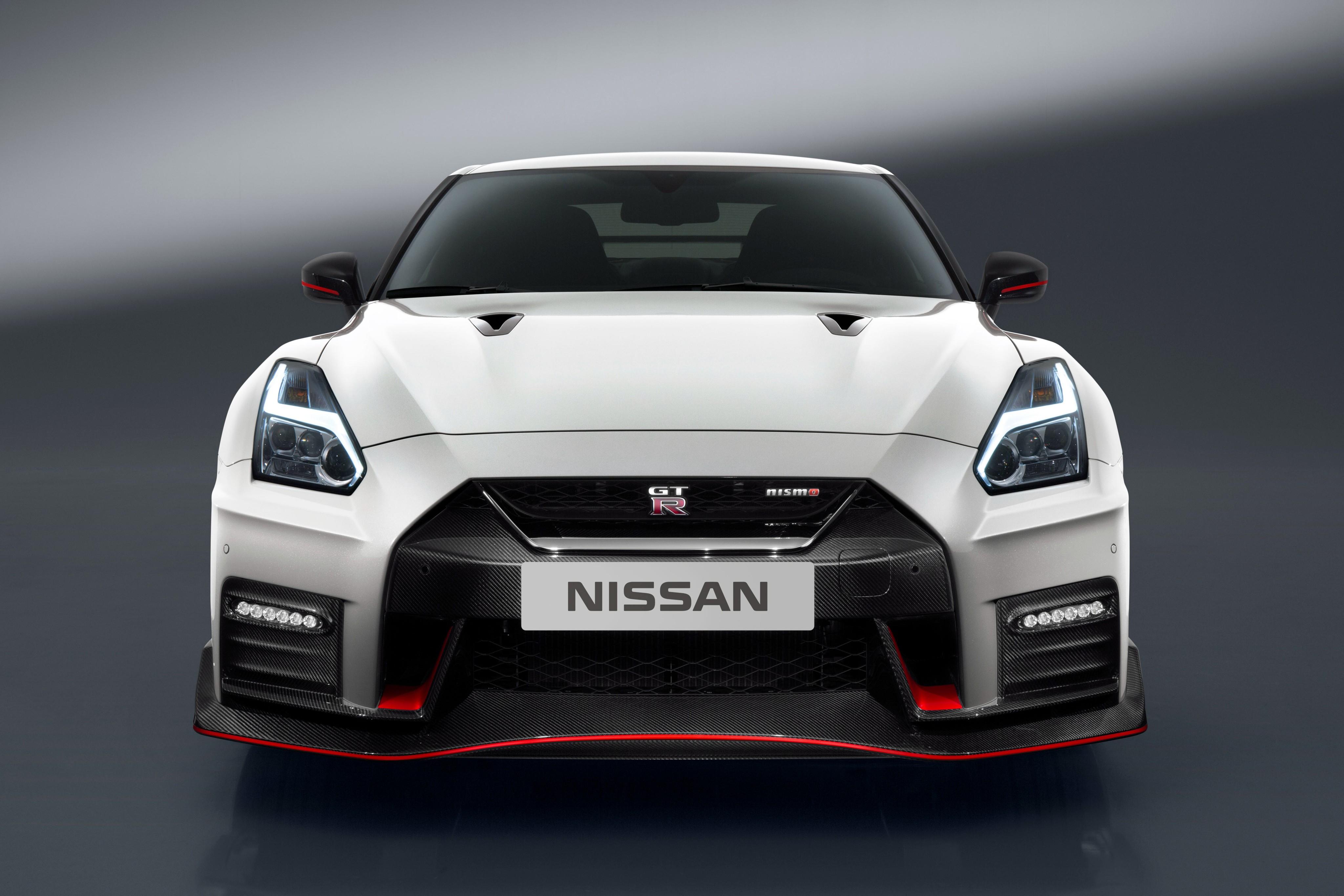 Wallpaper Nissan Gt R Nismo White Sport Car Cars