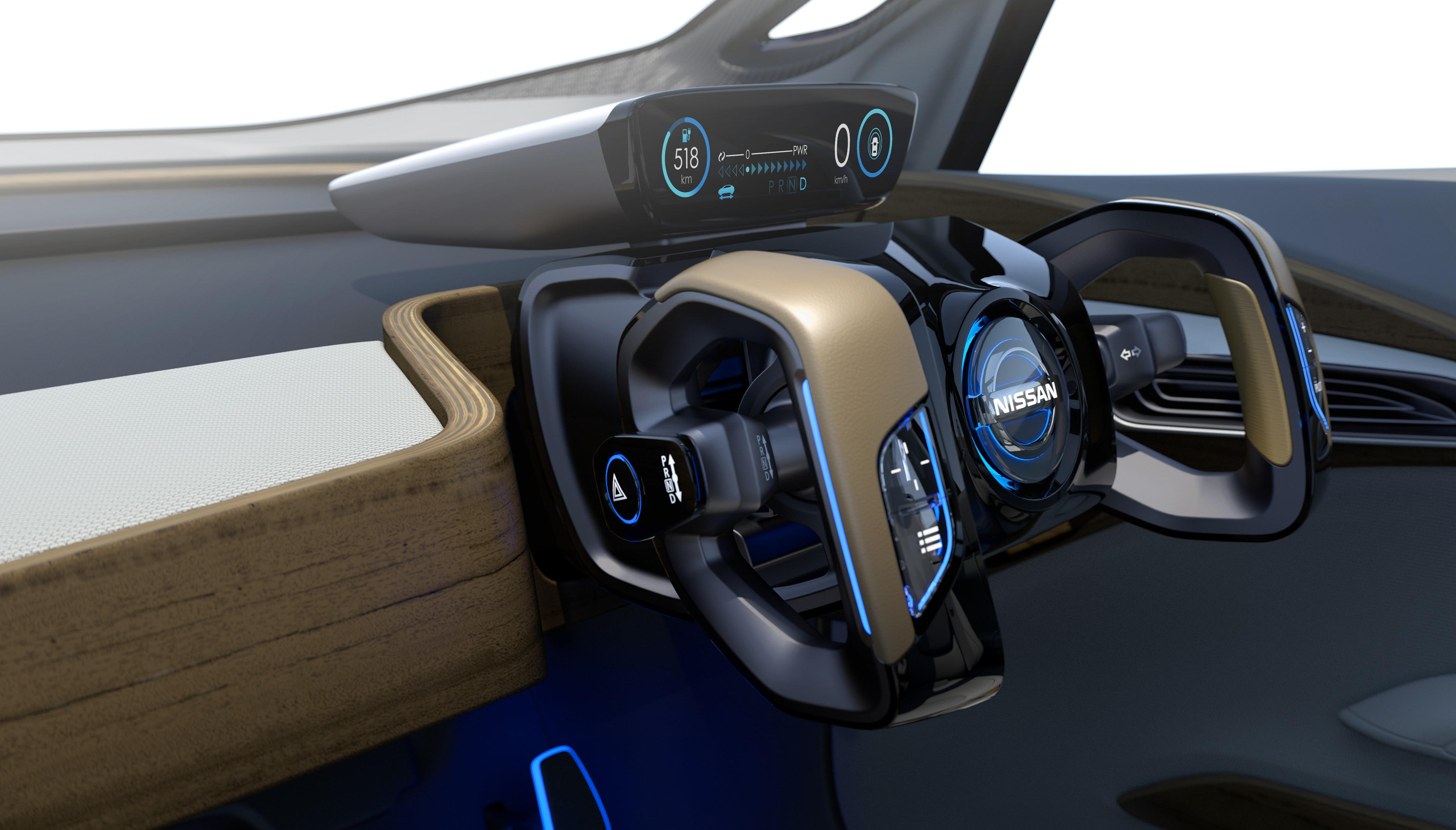 Wallpaper Nissan Ids Concept Interior Luxury Cars