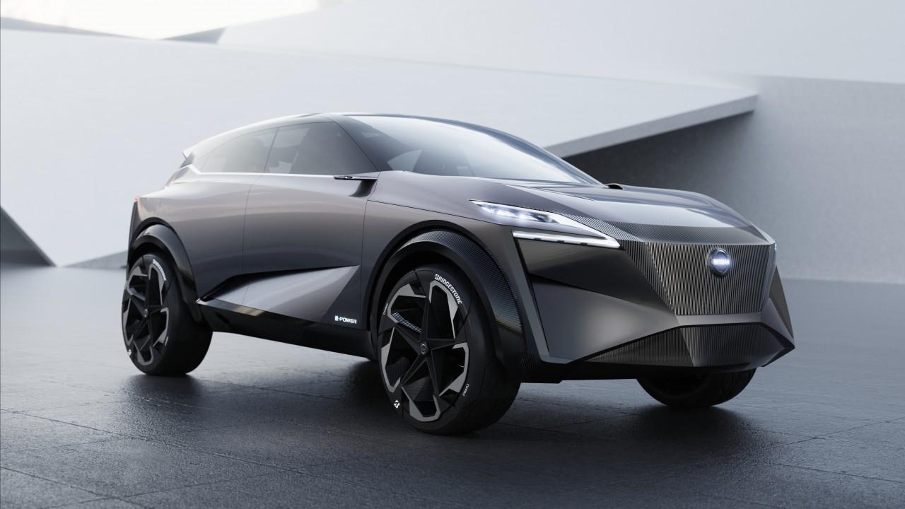 Wallpaper Nissan IMQ, electric cars, Geneva Motor Show ...