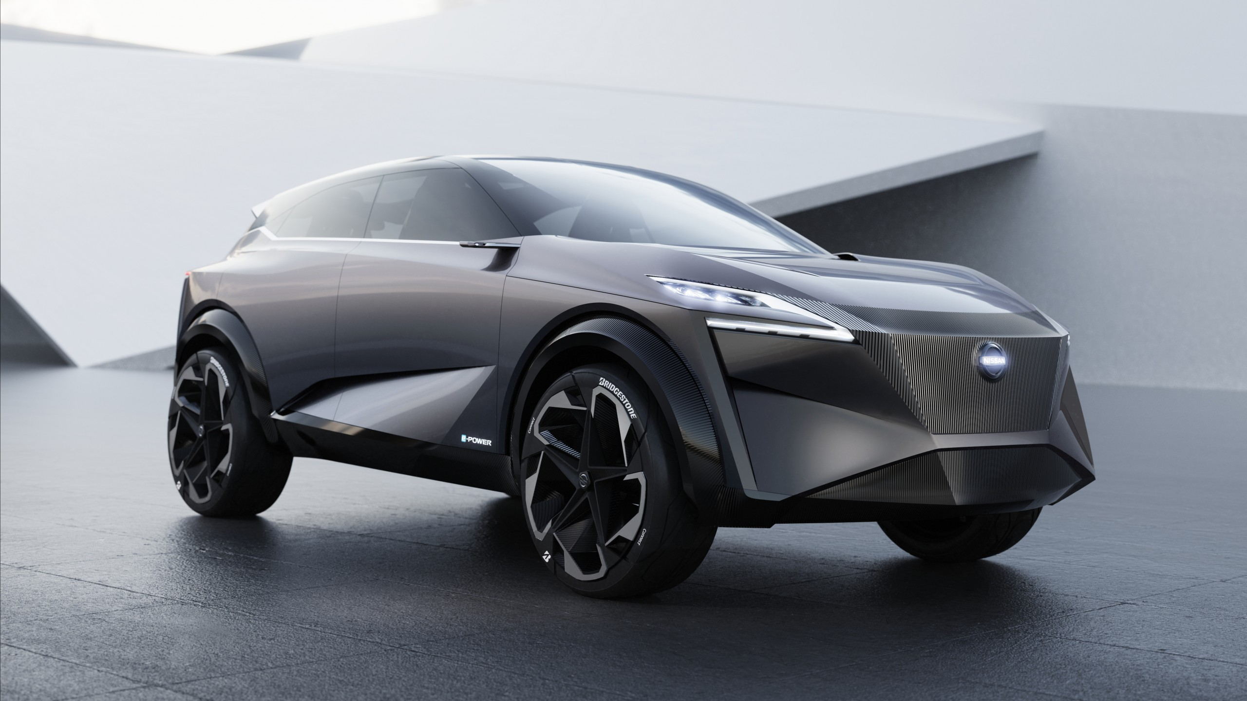 Wallpaper Nissan Imq Electric Cars Geneva Motor Show