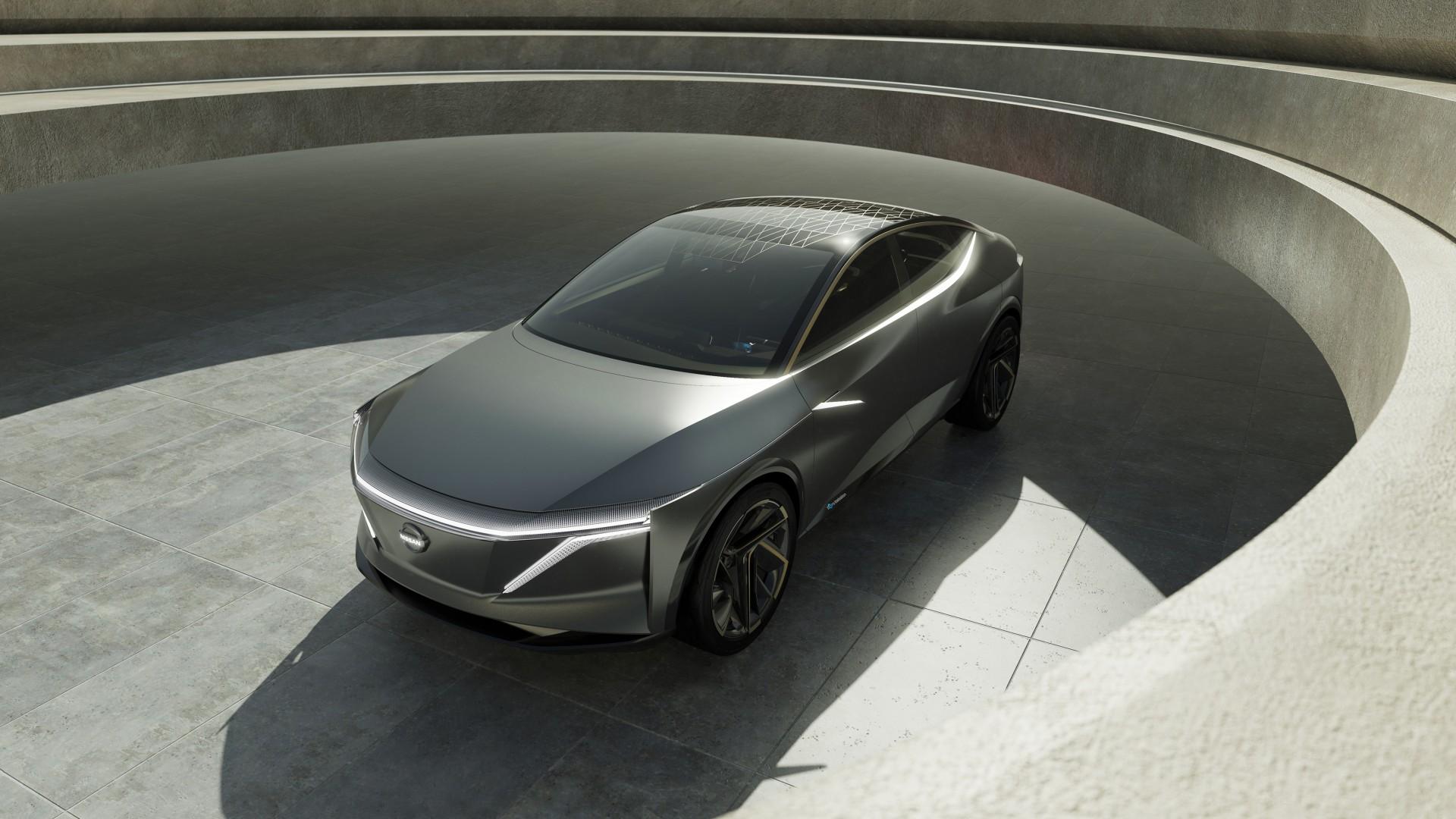 Nissan Luxury Car >> Wallpaper Nissan IMs, electric cars, 2019 Detroit Auto ...