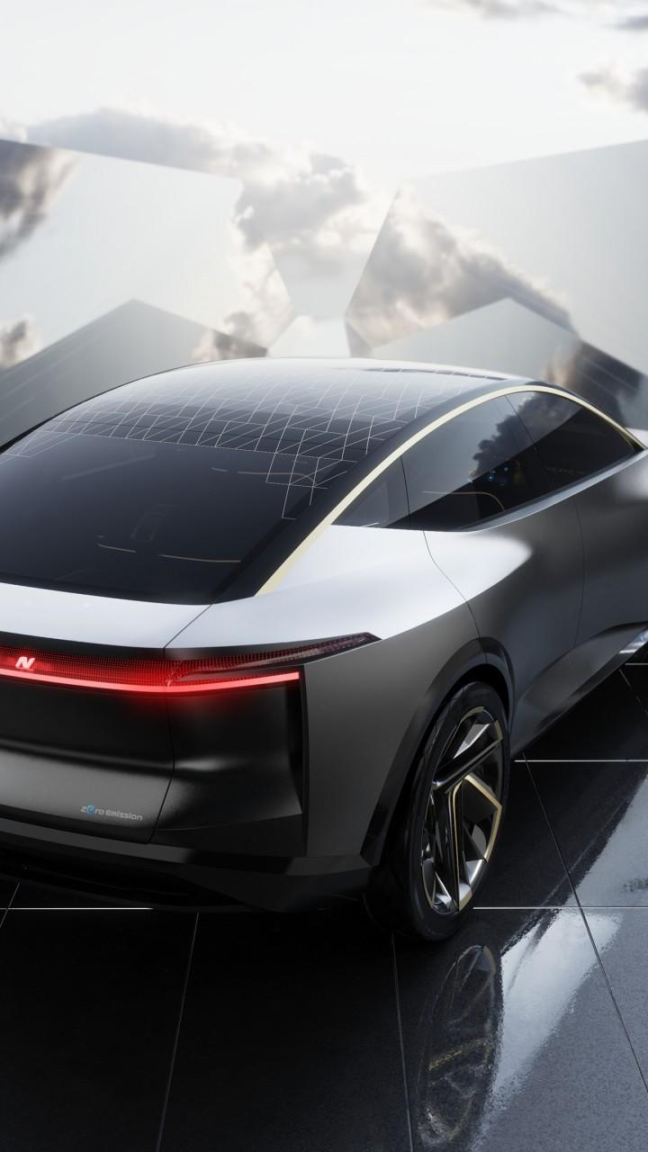 Wallpaper Nissan IMs, electric cars, 2019 Detroit Auto ...