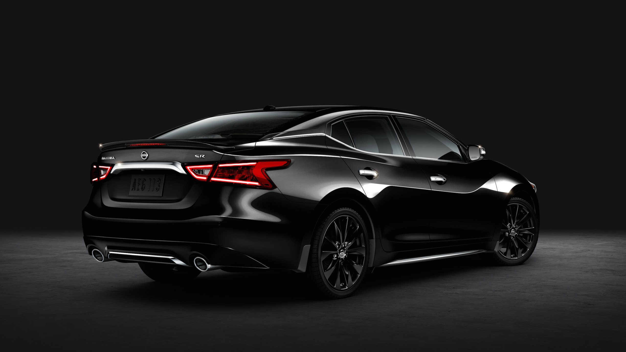 Wallpaper Nissan Maxima SR Midnight, sedan, sport car ...