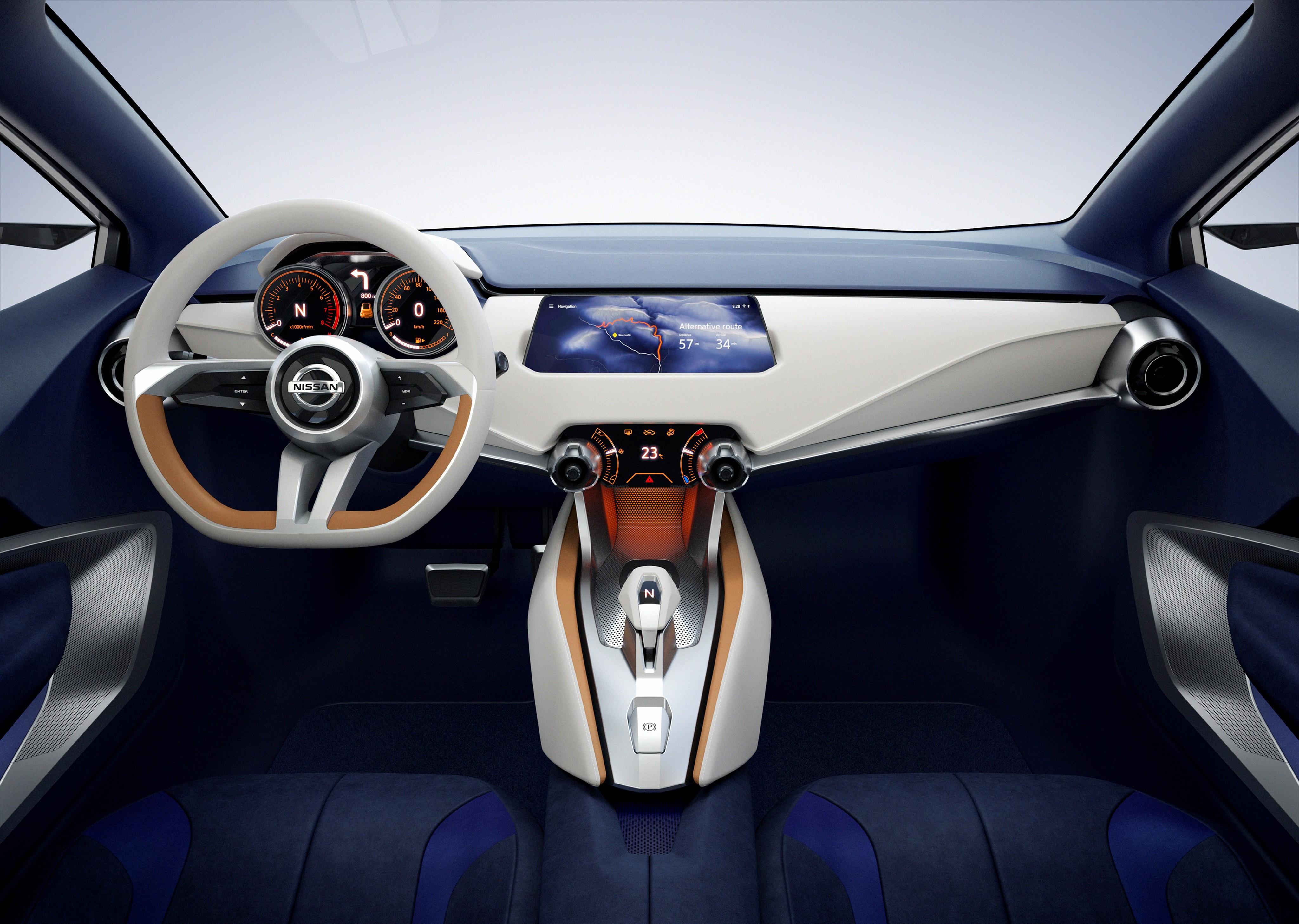 cars interior nissan concept. Black Bedroom Furniture Sets. Home Design Ideas