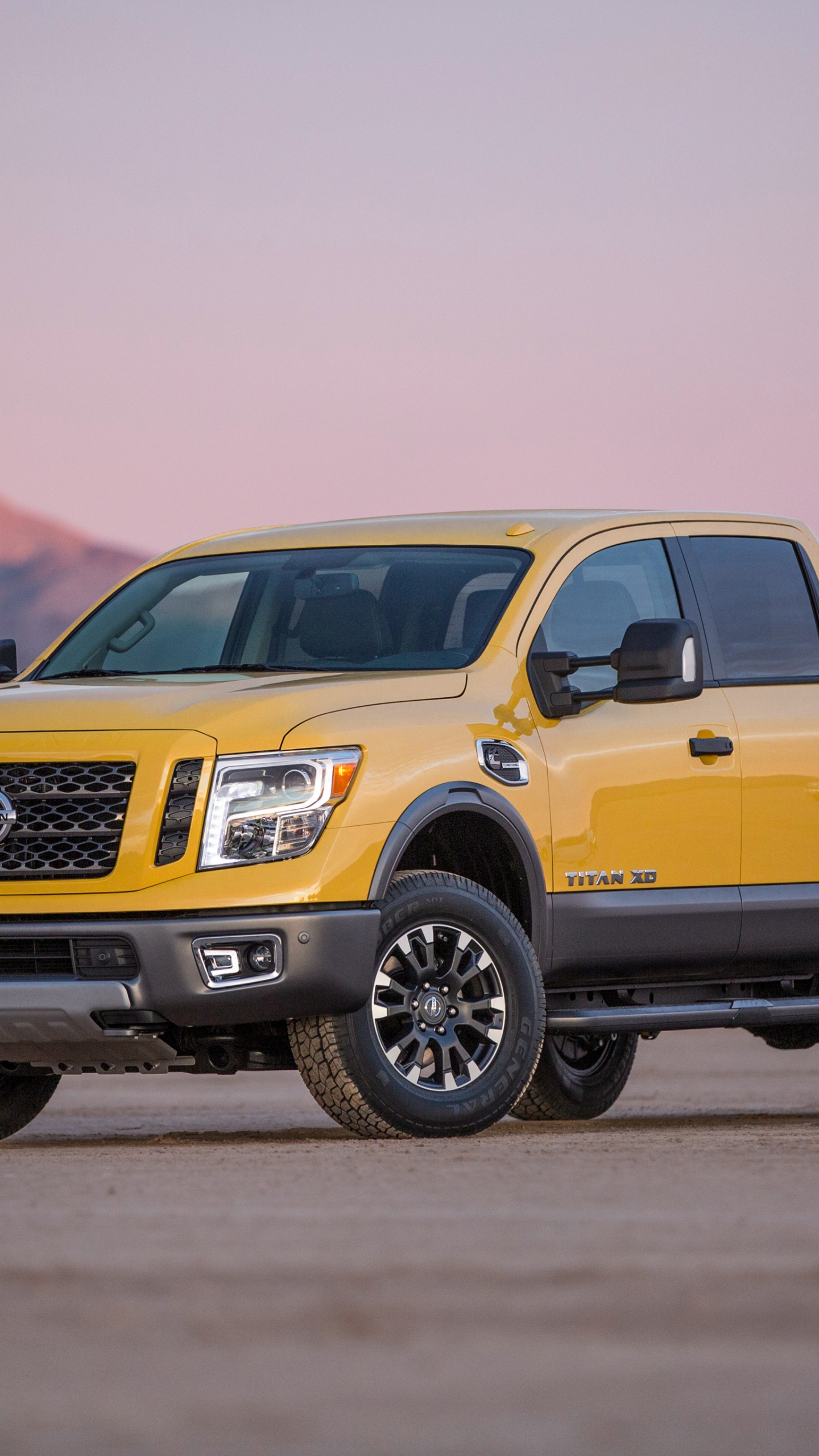 Wallpaper Nissan Titan, pickup, SUV, yellow, 2016, Cars ...