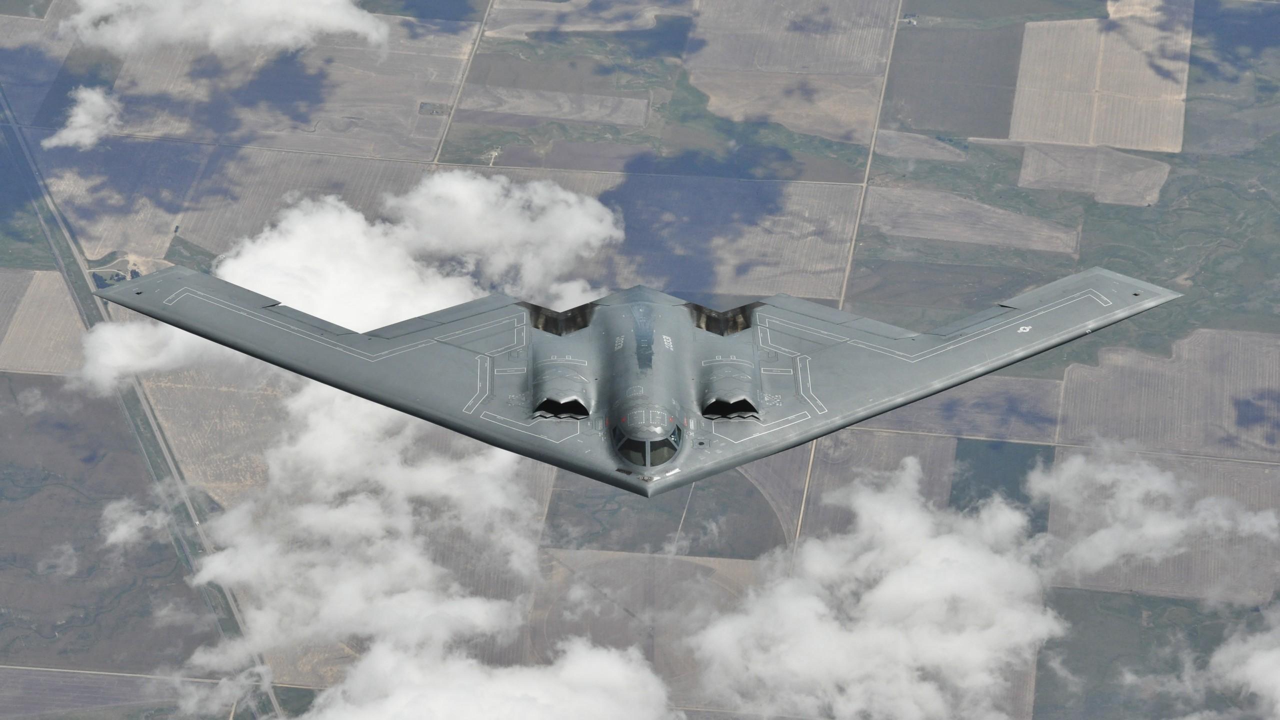 Wallpaper Northrop B 2 Spirit Bomber Aircraft U S Air