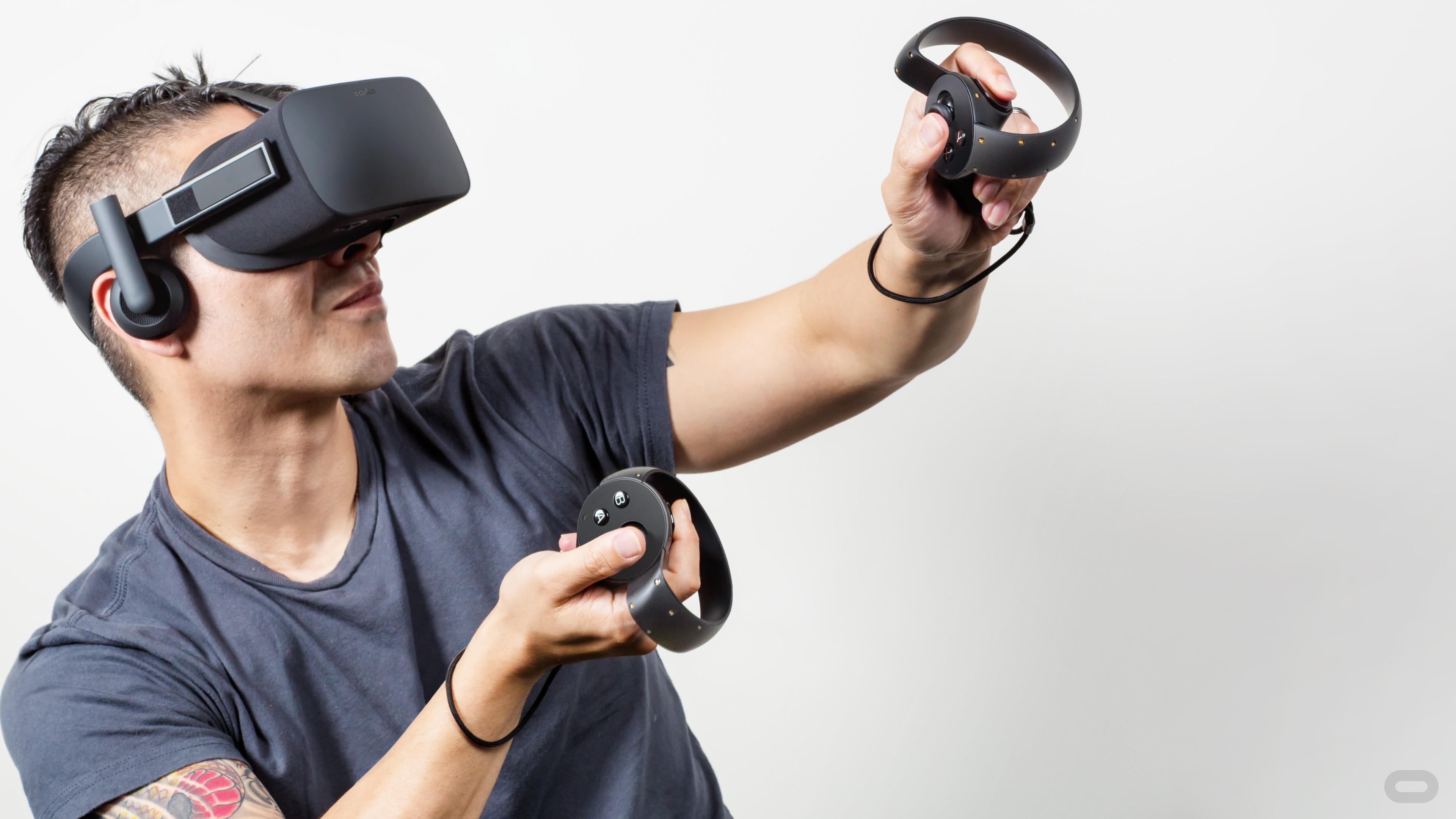 Wallpaper Oculus Rift Touch Virtual Reality VR Headset Hi