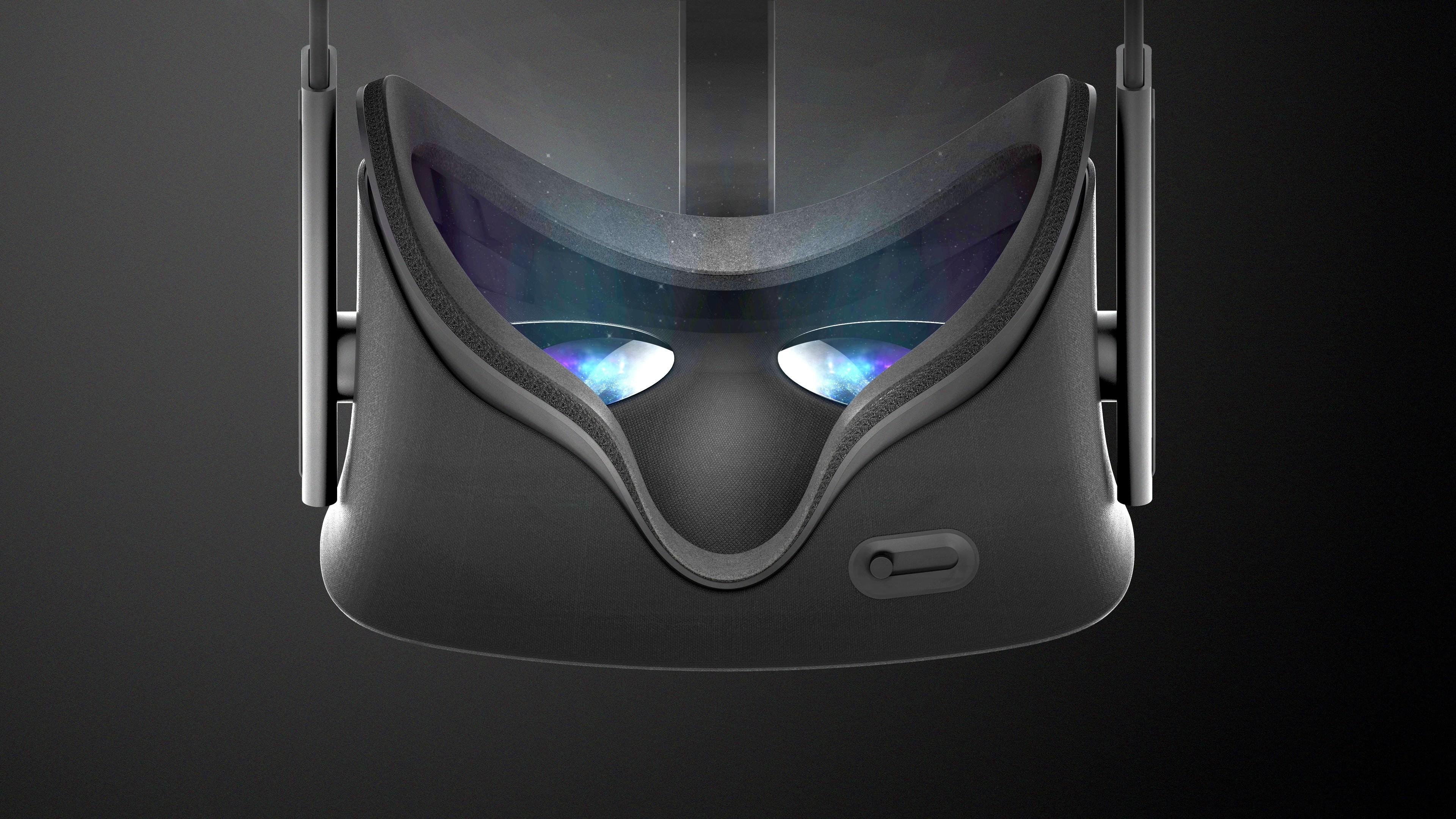 Wallpaper Oculus Rift Virtual Reality VR Headset 3D Hi Tech 6208