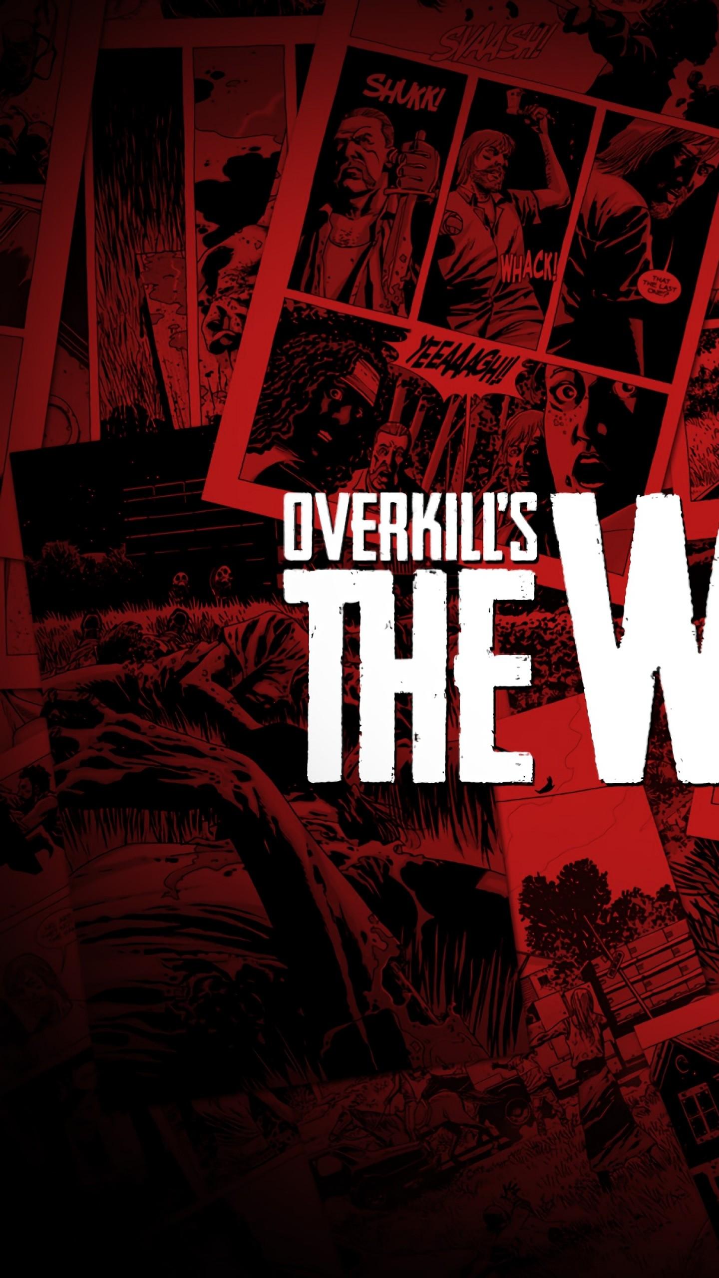 Wallpaper Overkill S The Walking Dead E3 2018 Poster 4k