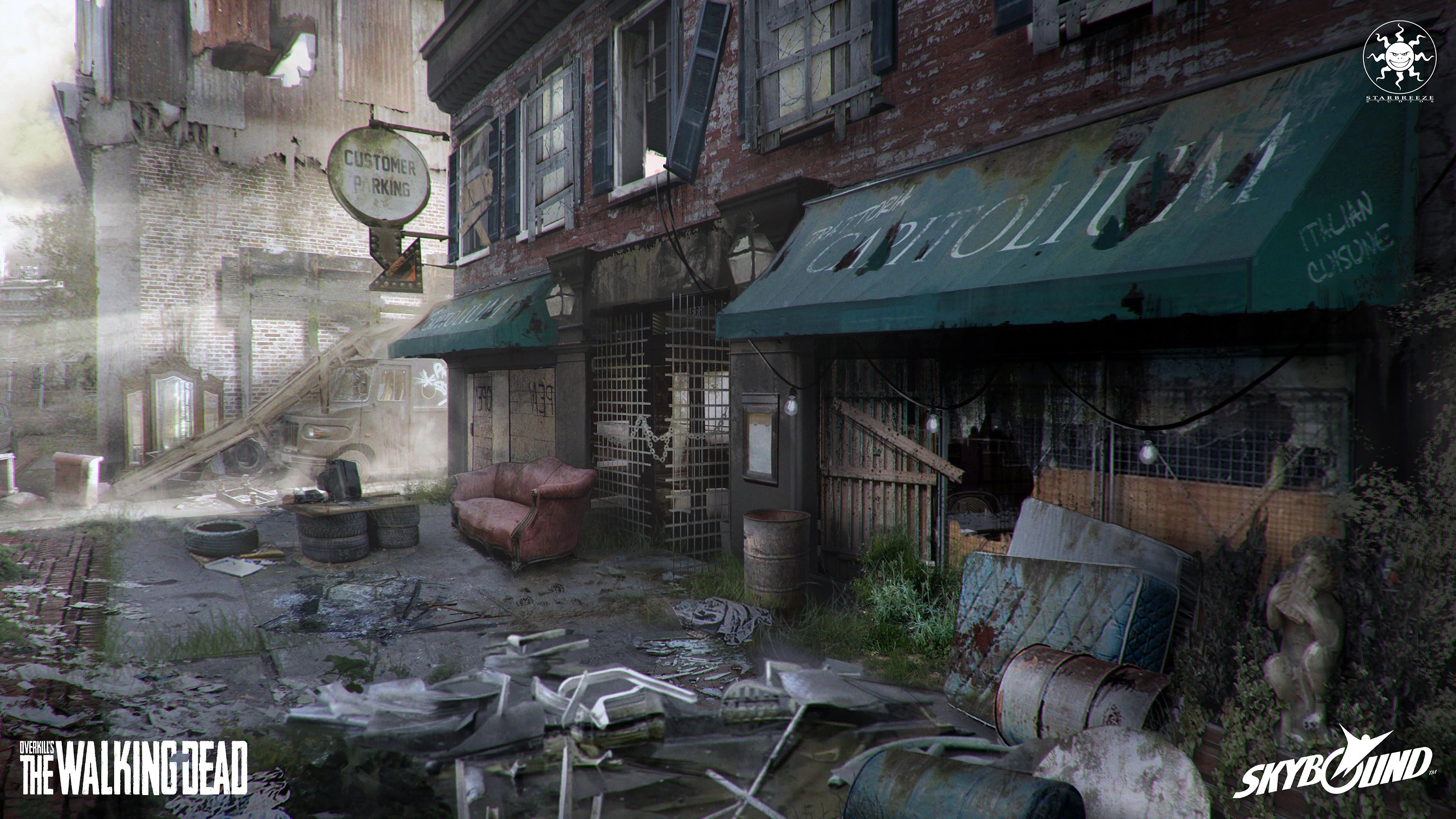 Wallpaper Overkills The Walking Dead E3 2018 Screenshot